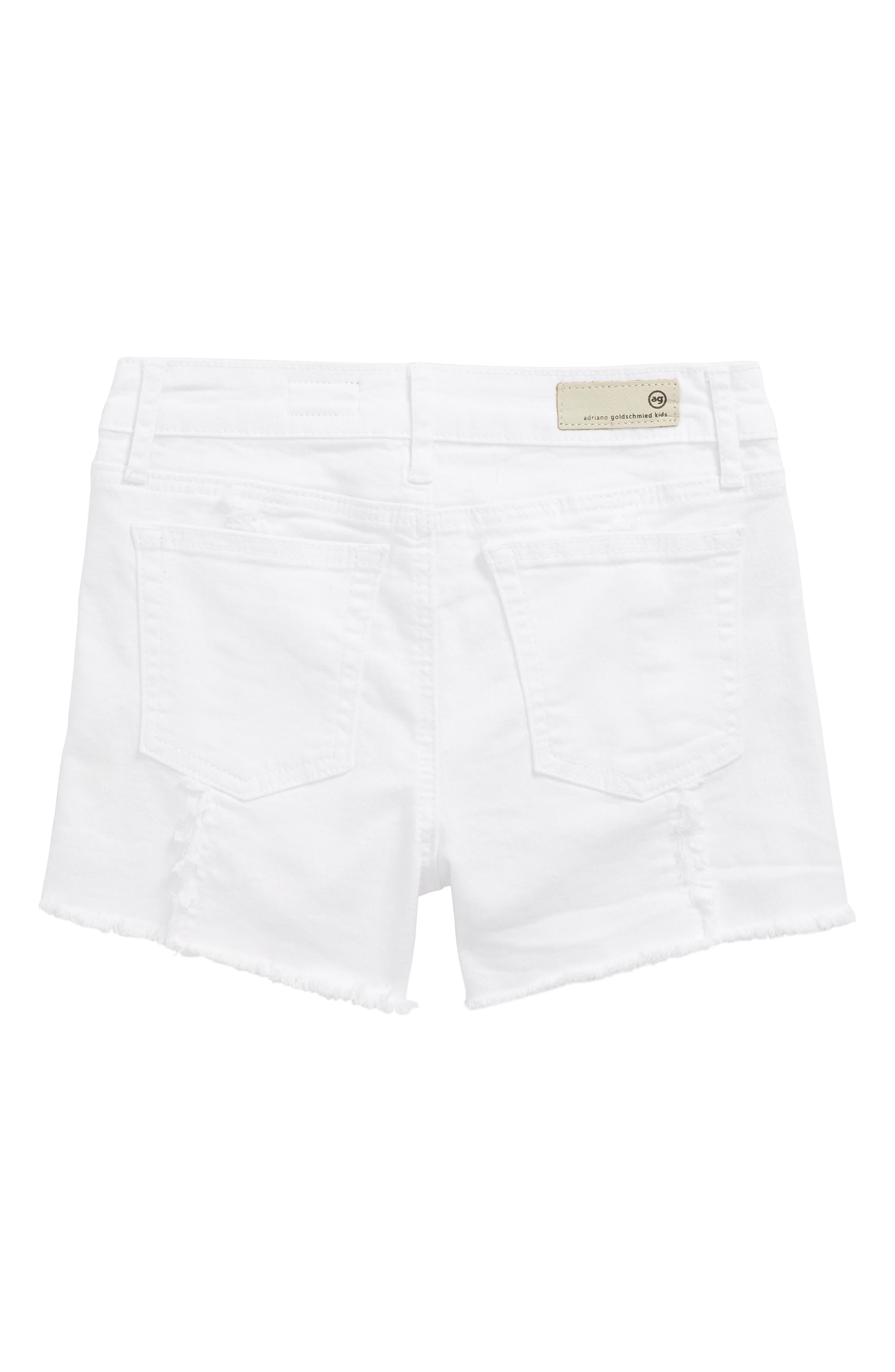 AG The Sandy Shorts,                             Alternate thumbnail 2, color,                             White