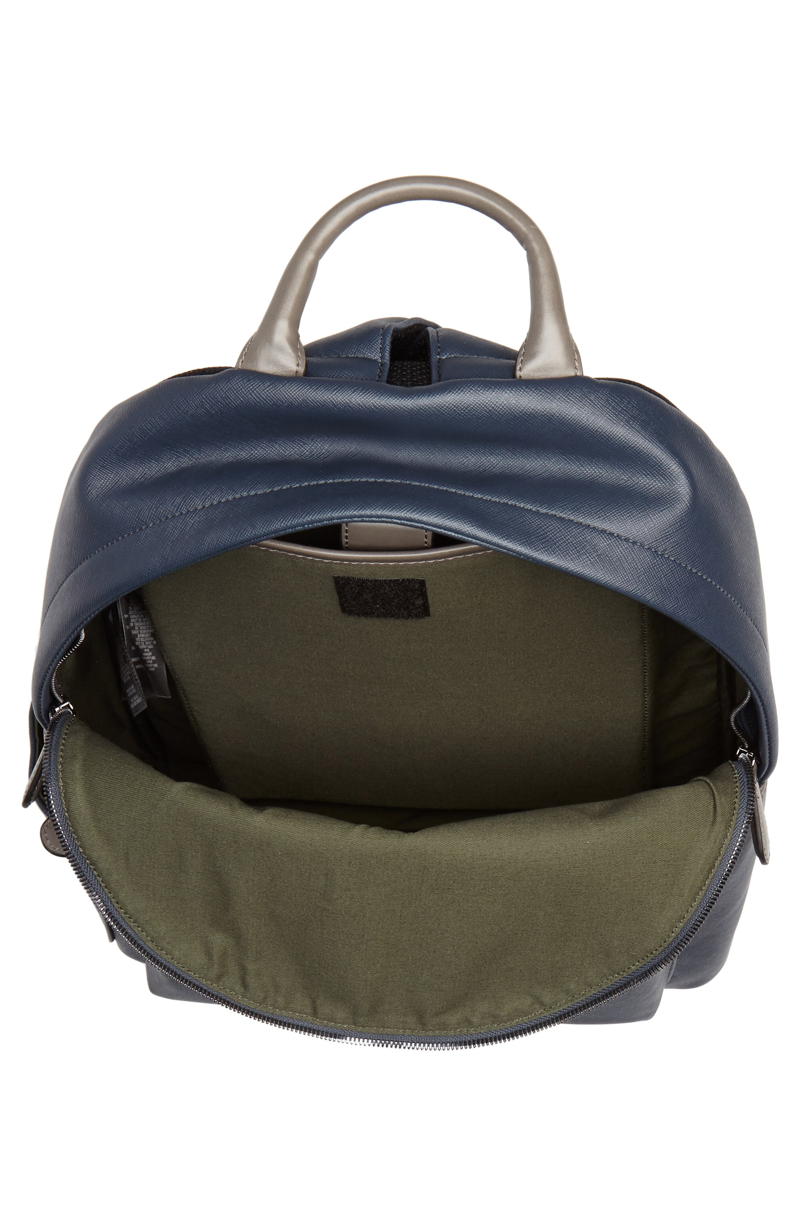 Baarley Backpack,                             Alternate thumbnail 4, color,                             Navy