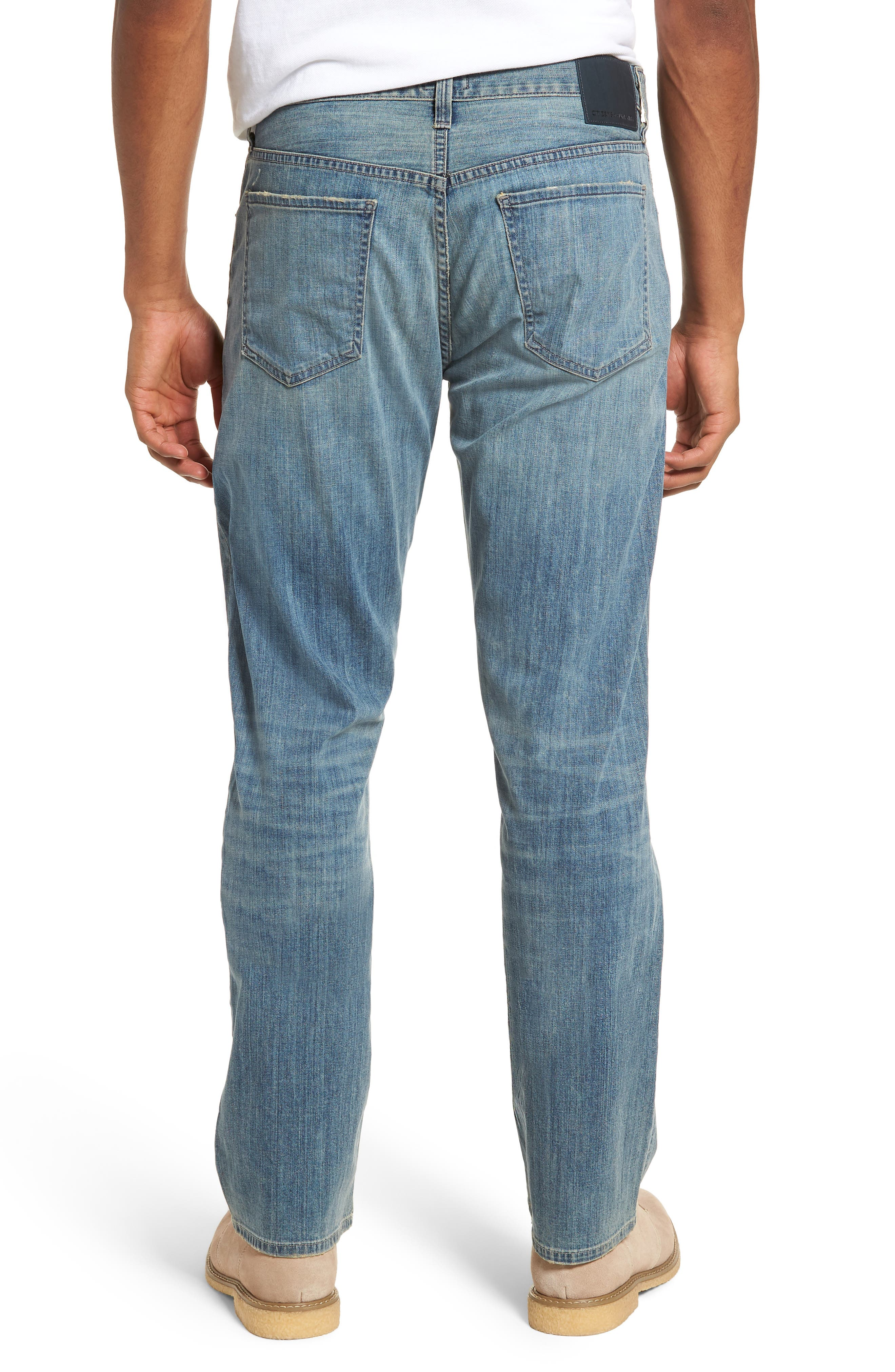 Perfect Relaxed Fit Jeans,                             Alternate thumbnail 2, color,                             Costa