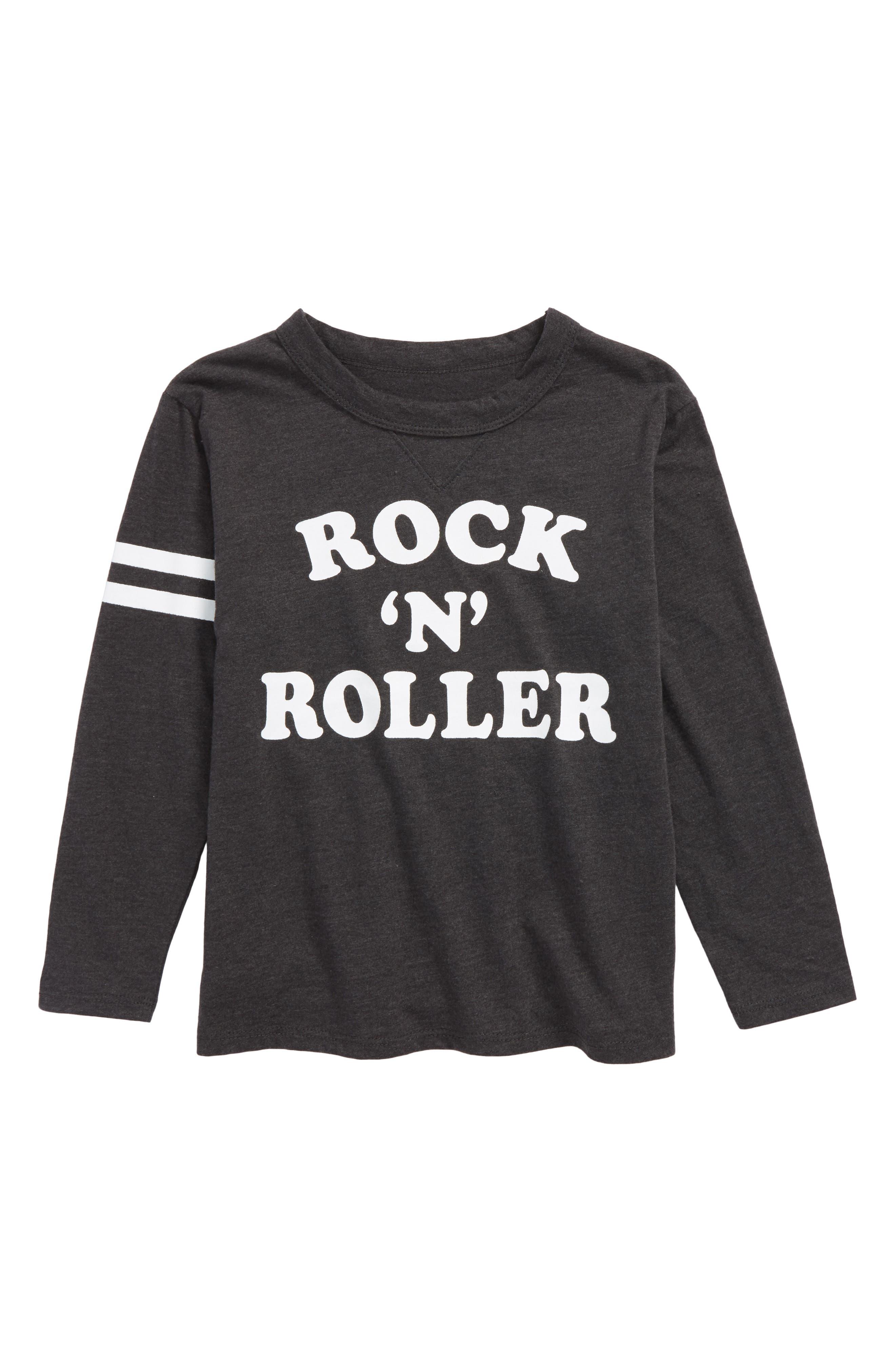 Rock 'n' Roller Graphic T-Shirt,                             Main thumbnail 1, color,                             Vintage Black