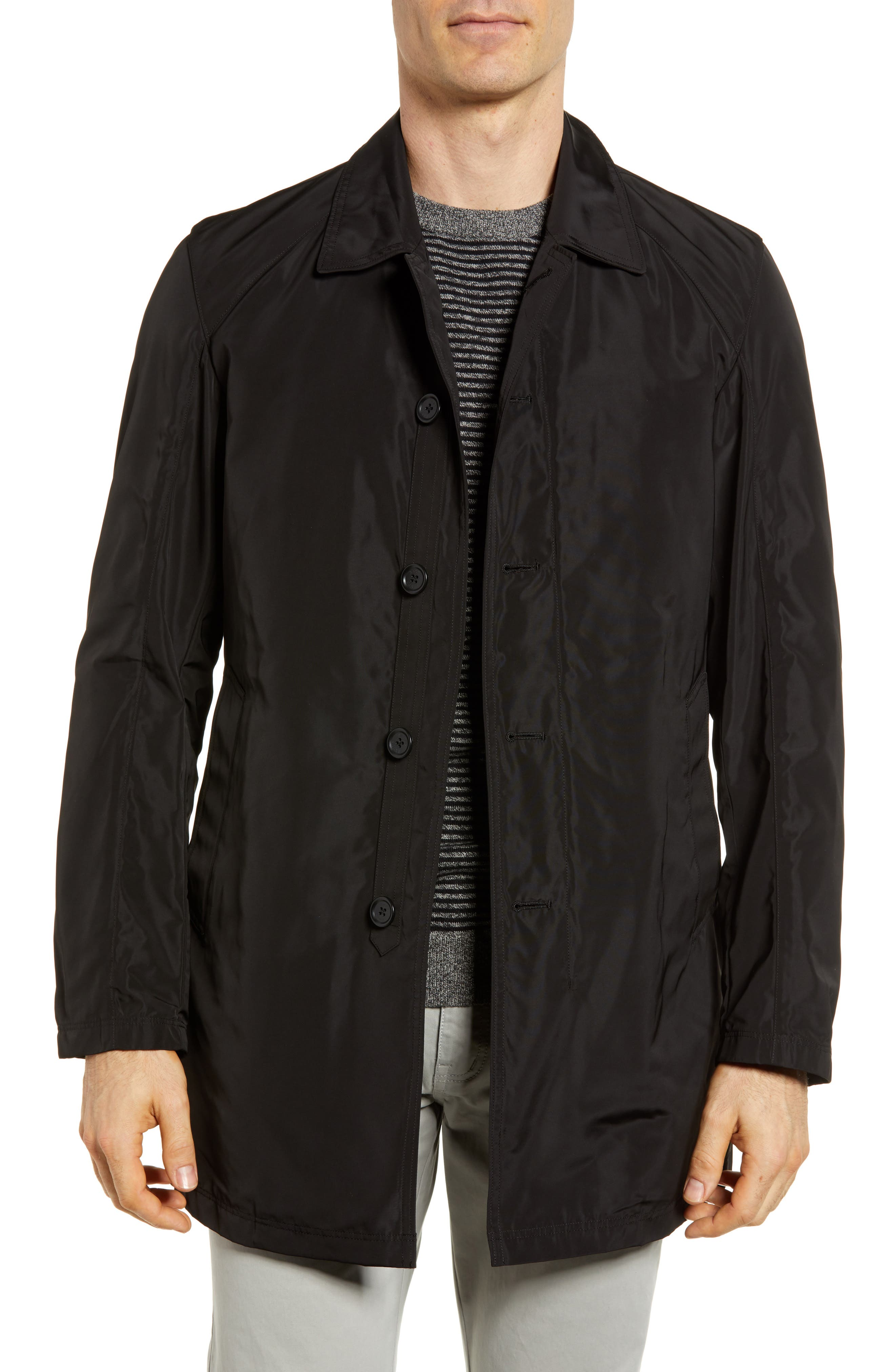 S/B Raincoat,                         Main,                         color, Black