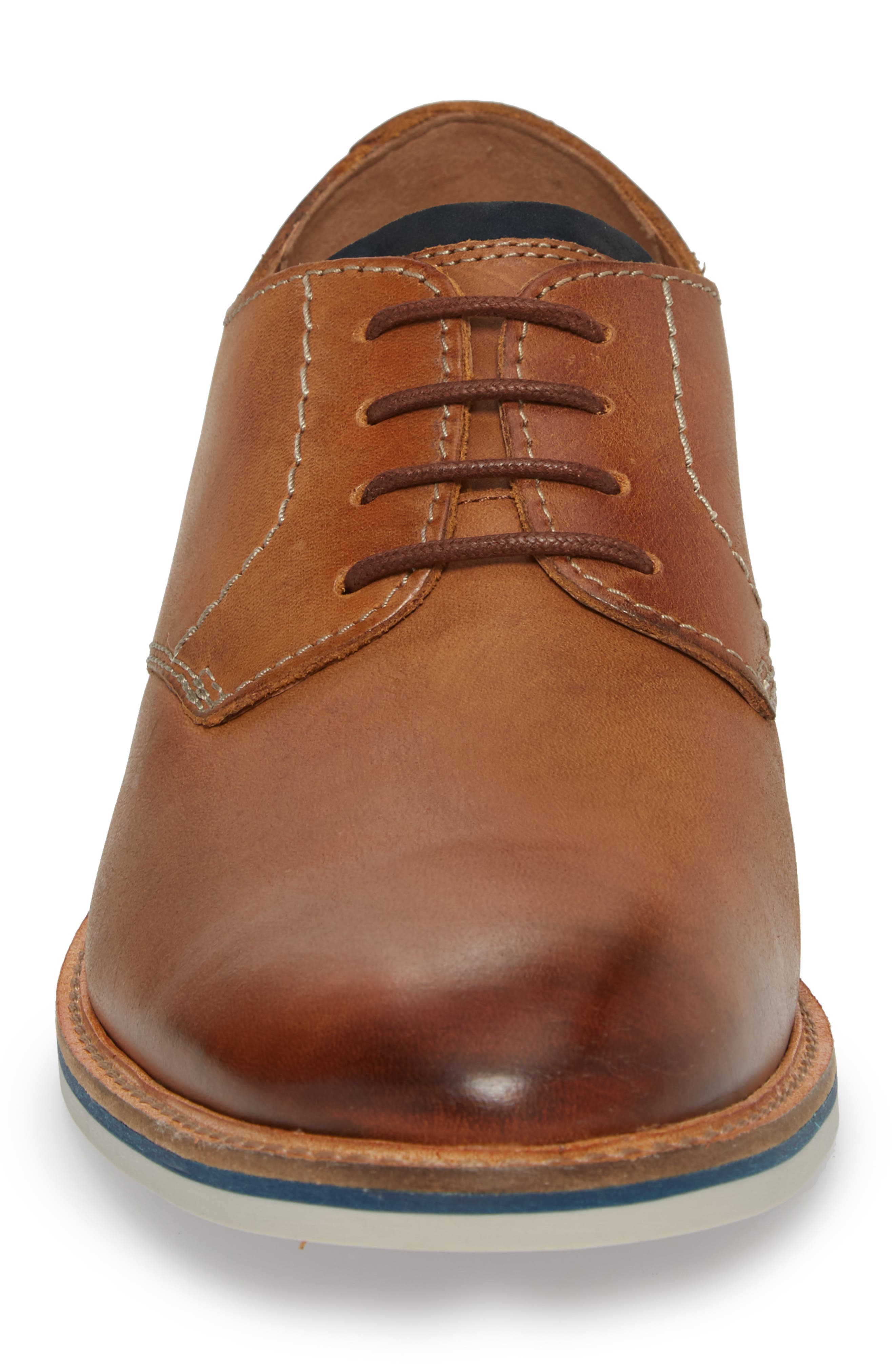 Alternate Image 4  - Clarks® Atticus Plain Toe Derby (Men)