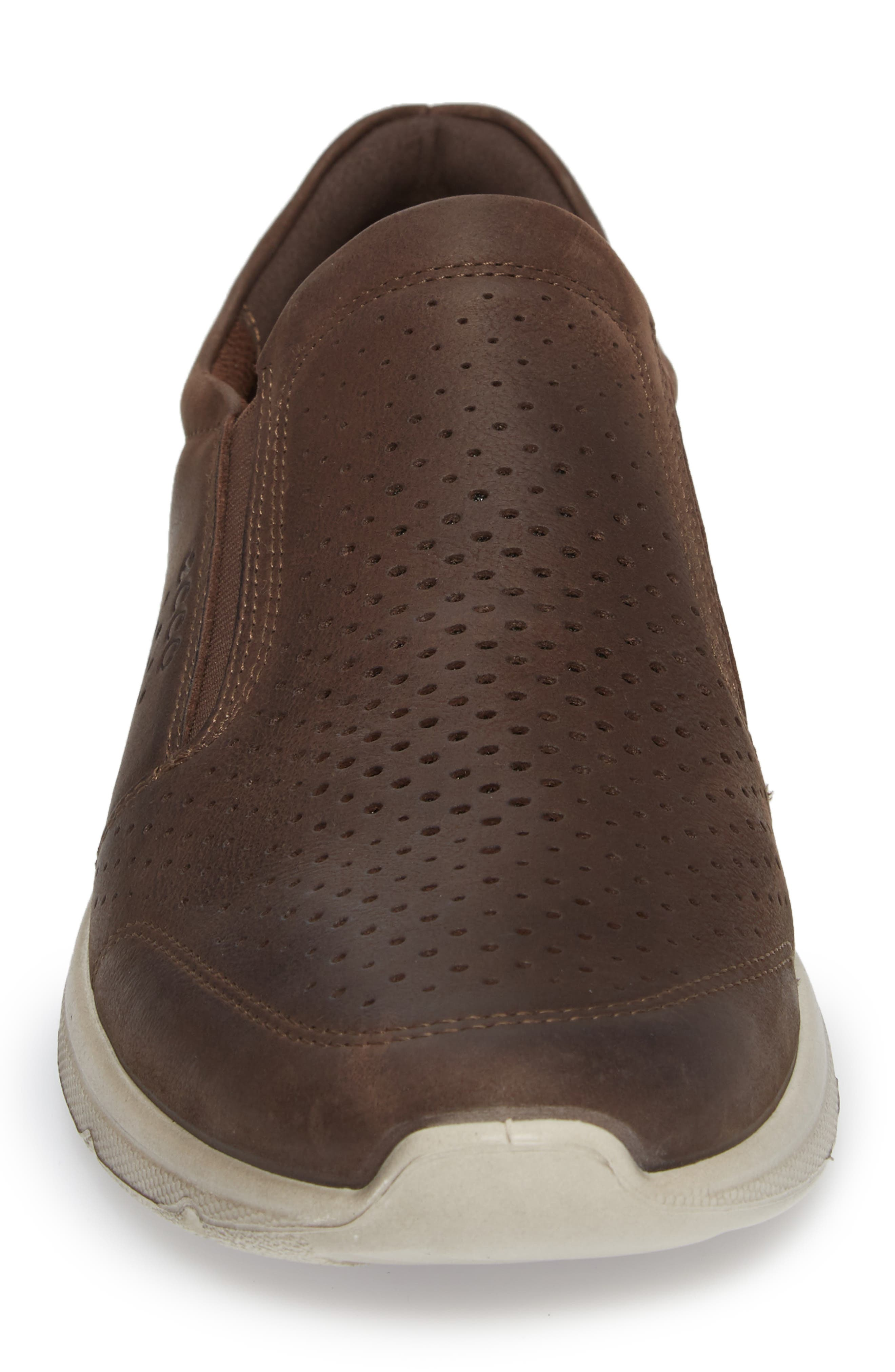 Irving Slip-On,                             Alternate thumbnail 4, color,                             Coffee Leather