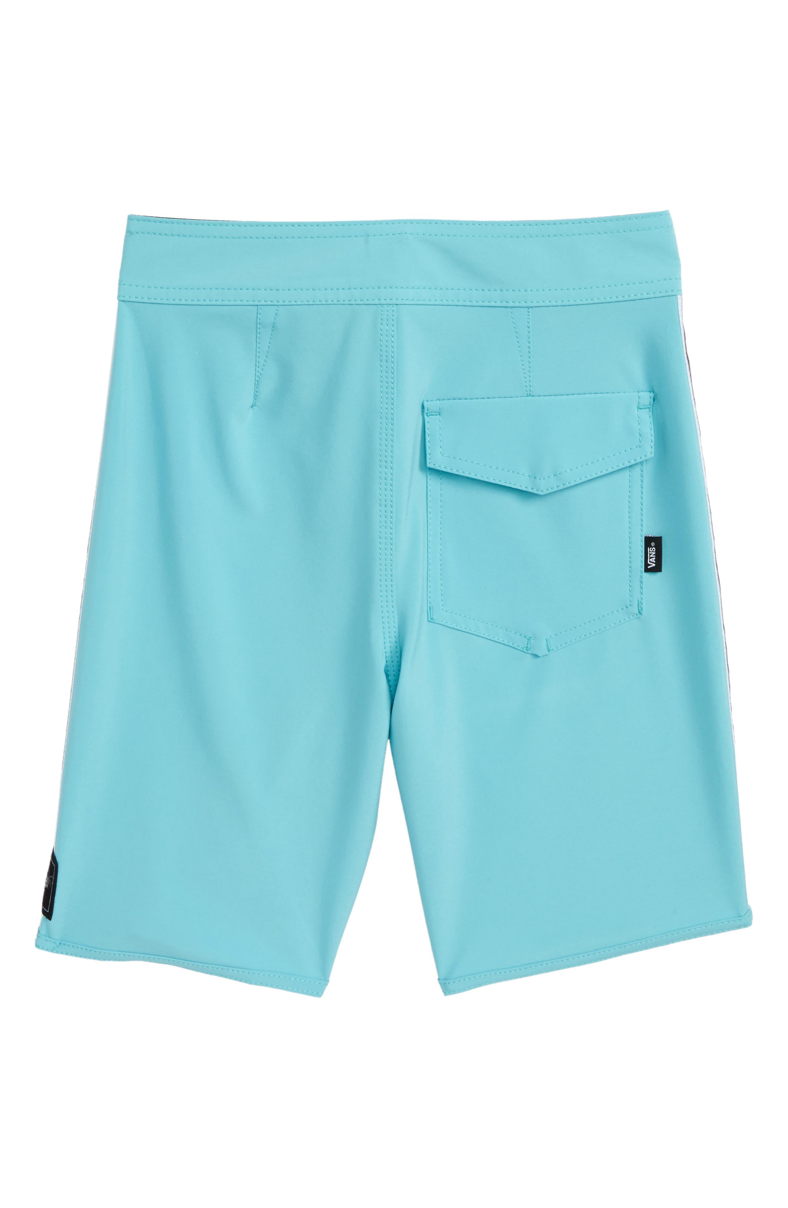 Sidestripe Board Shorts,                             Alternate thumbnail 2, color,                             Aquarelle