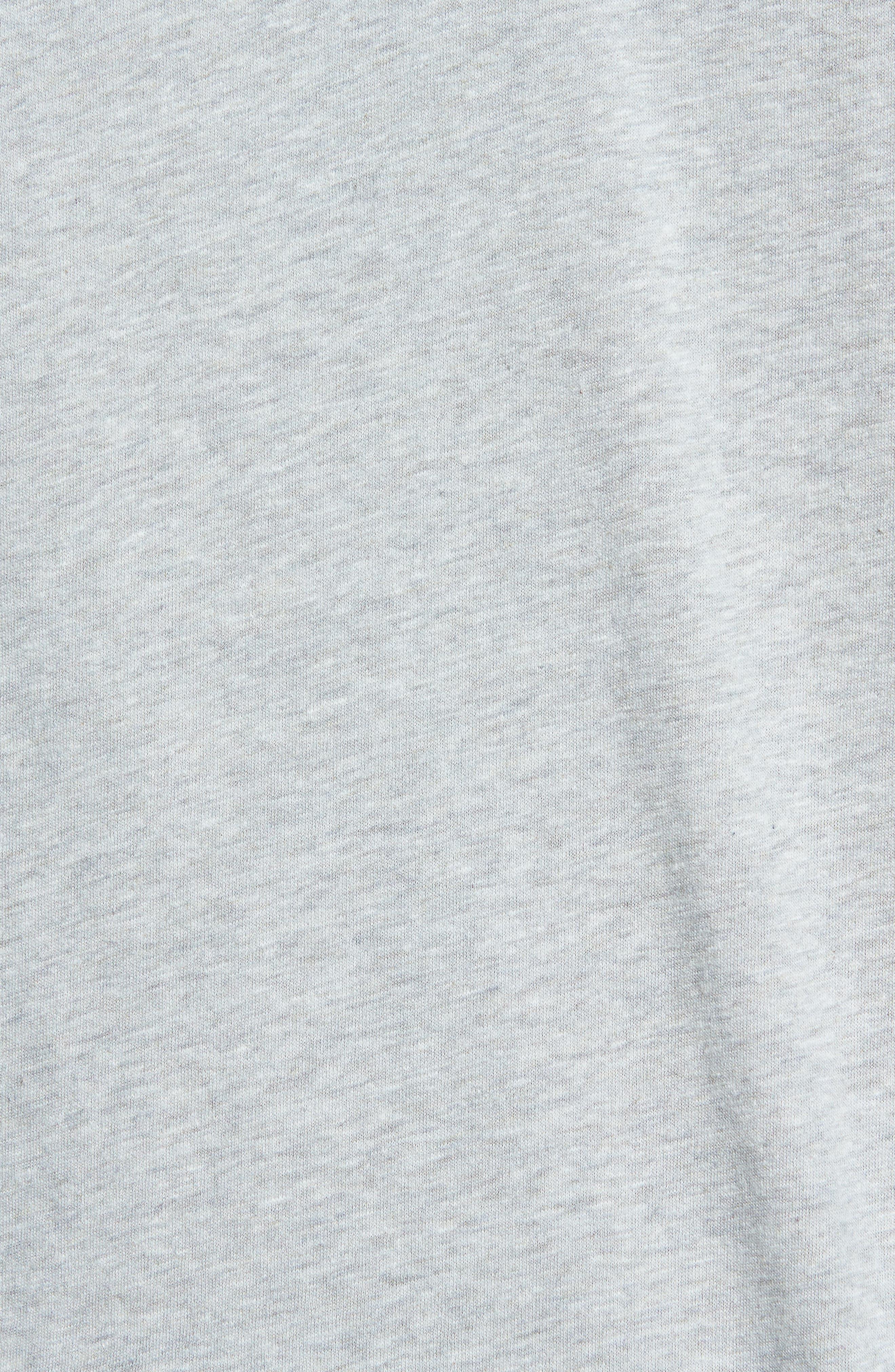 Hartford Nep Jersey Polo,                             Alternate thumbnail 4, color,                             Stone Grey