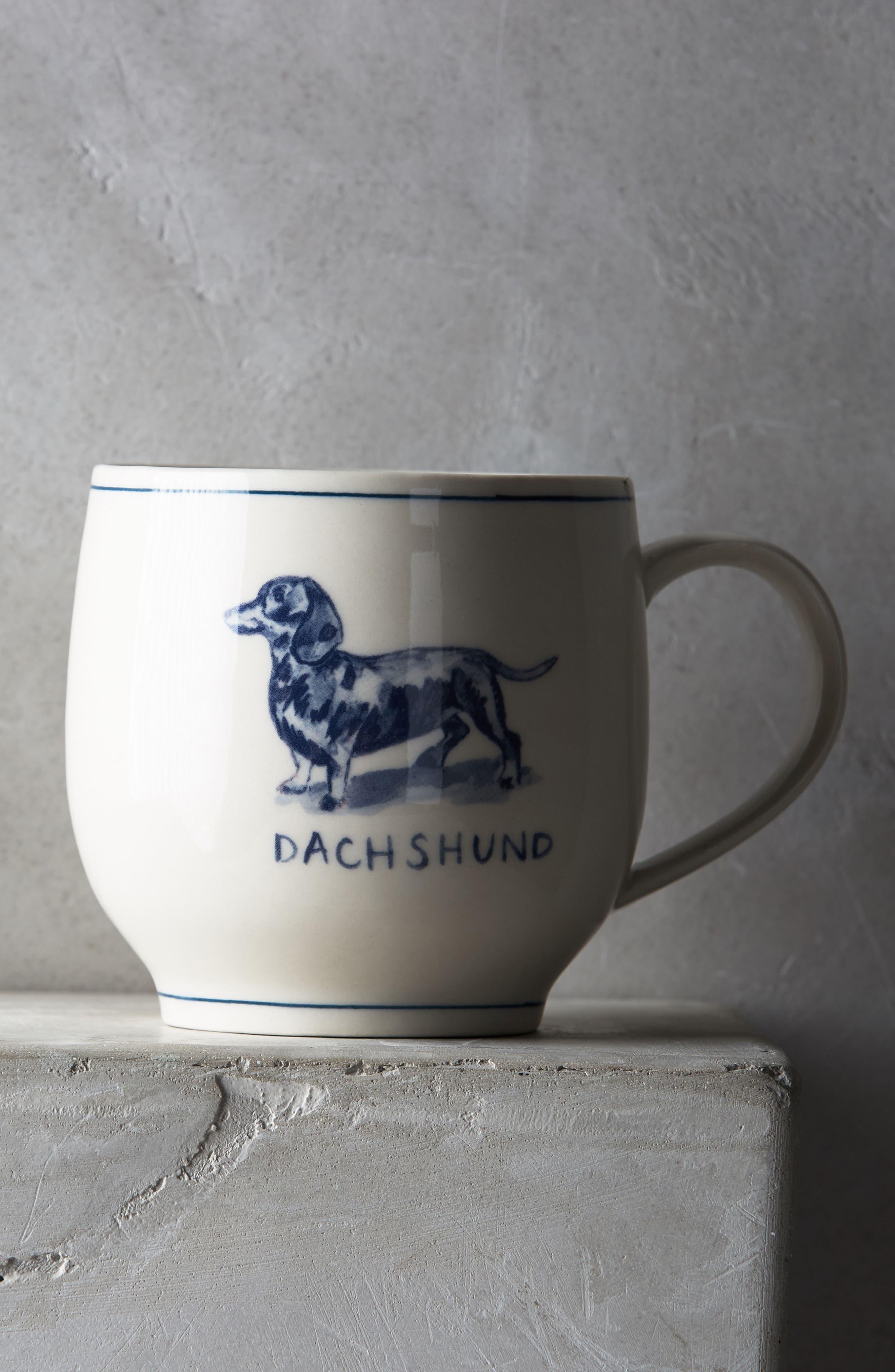 Icon Mug,                             Main thumbnail 1, color,                             Dachsund