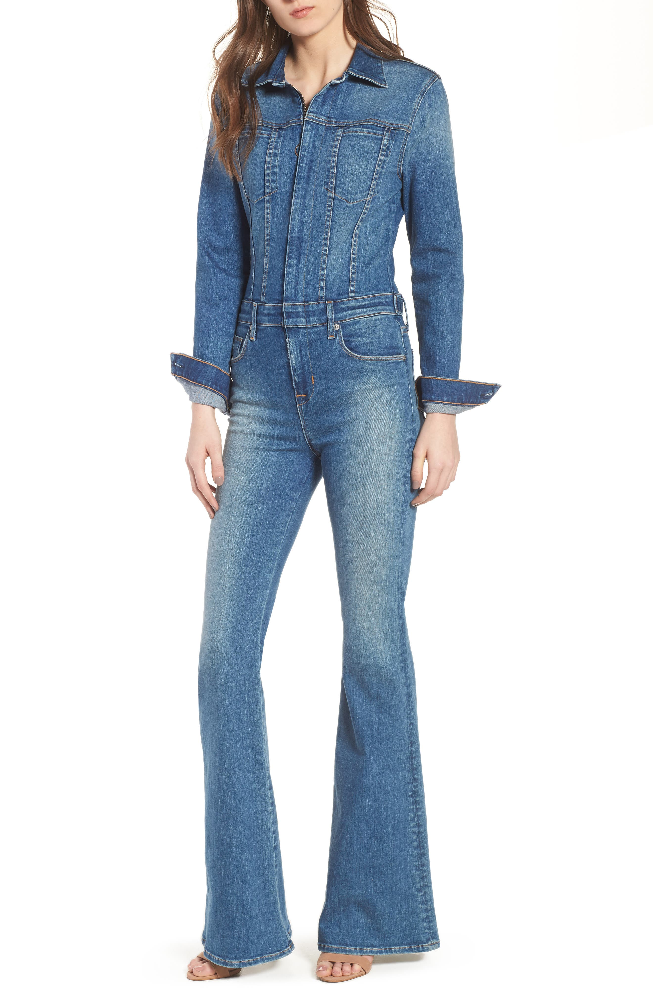 Holly Long Sleeve Coveralls,                         Main,                         color, Rambler