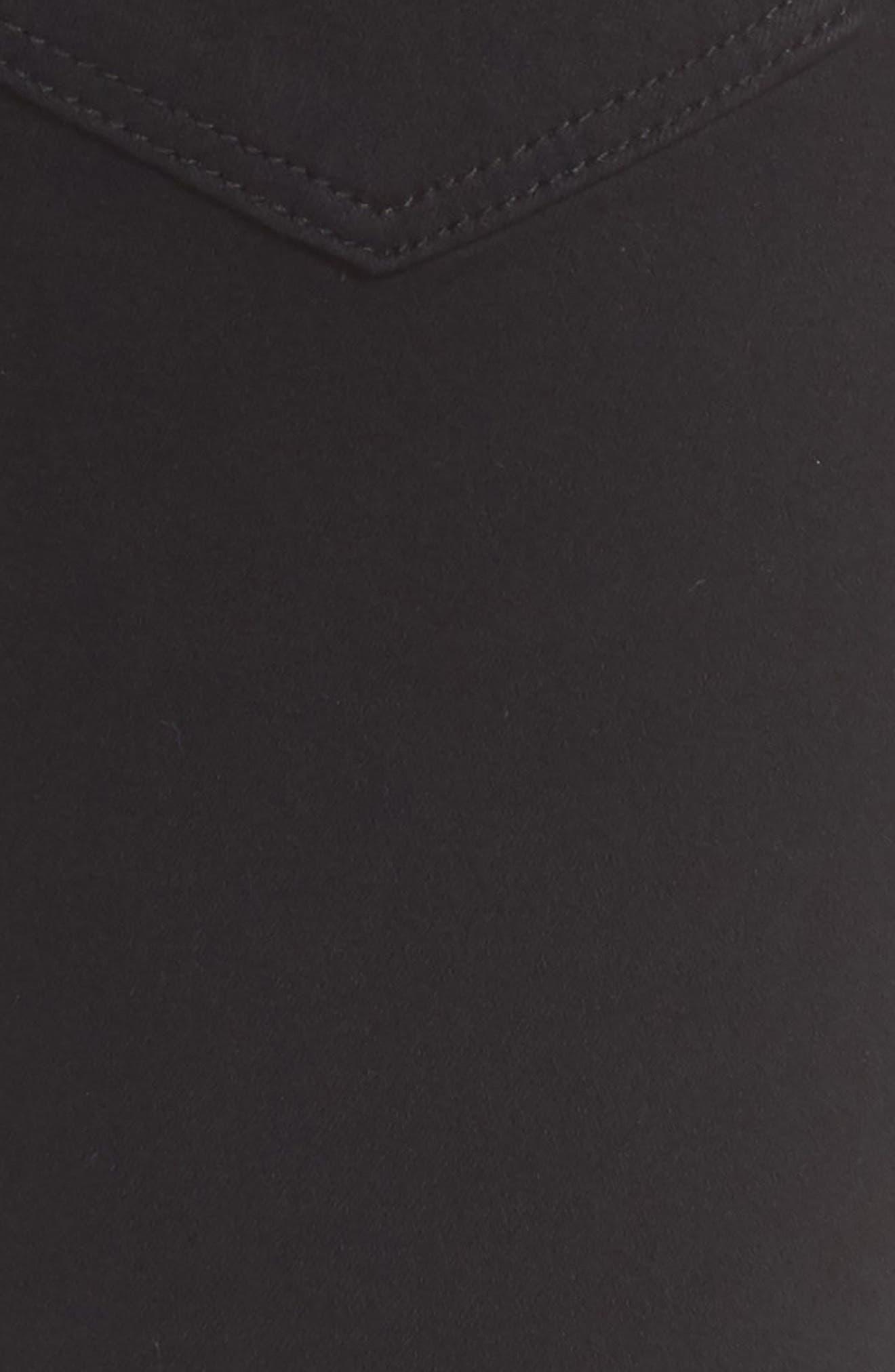 Lexy Skinny Jeans,                             Alternate thumbnail 6, color,                             Black