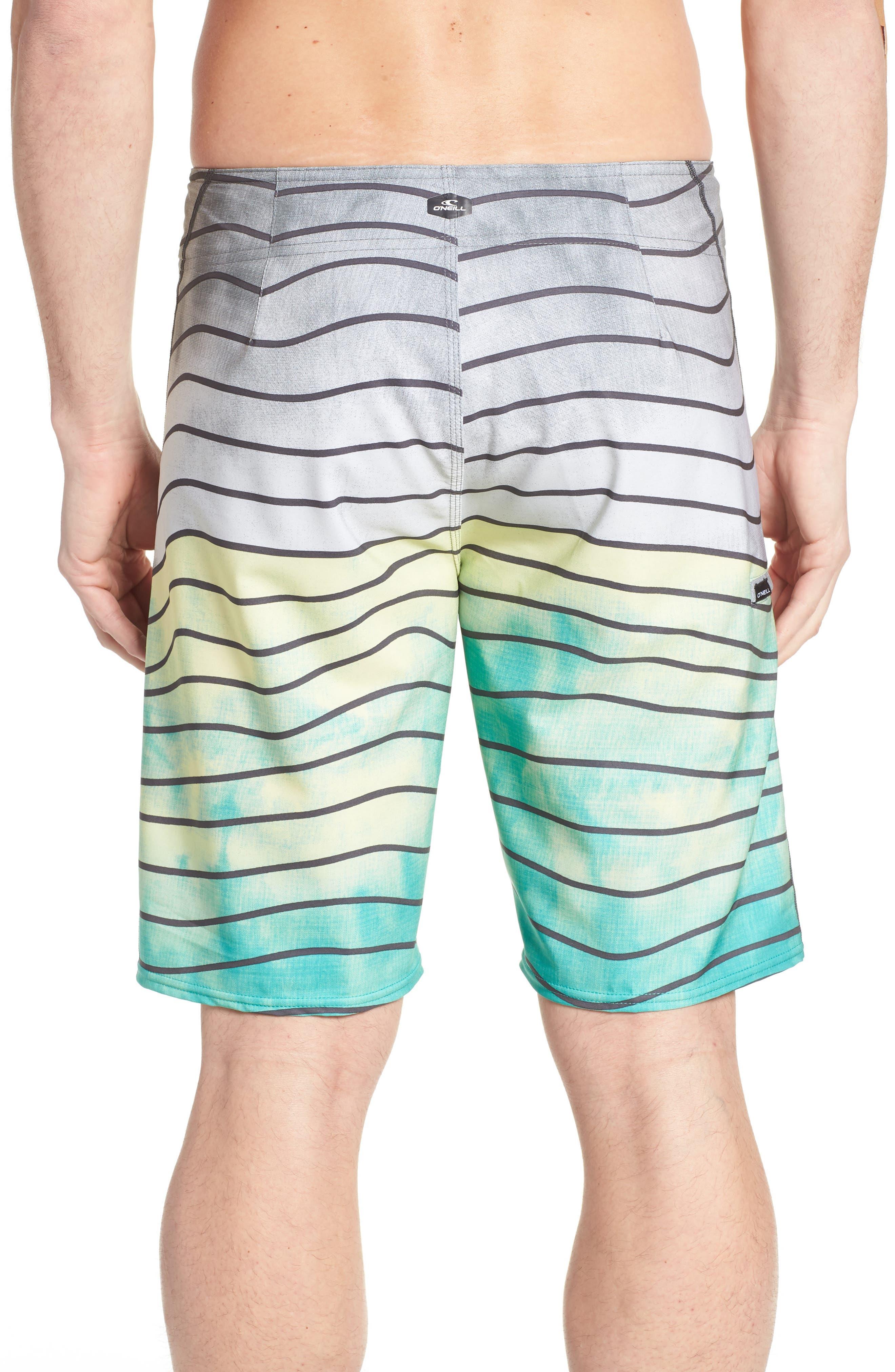 Hyperfreak Swell Board Shorts,                             Alternate thumbnail 2, color,                             Ocean