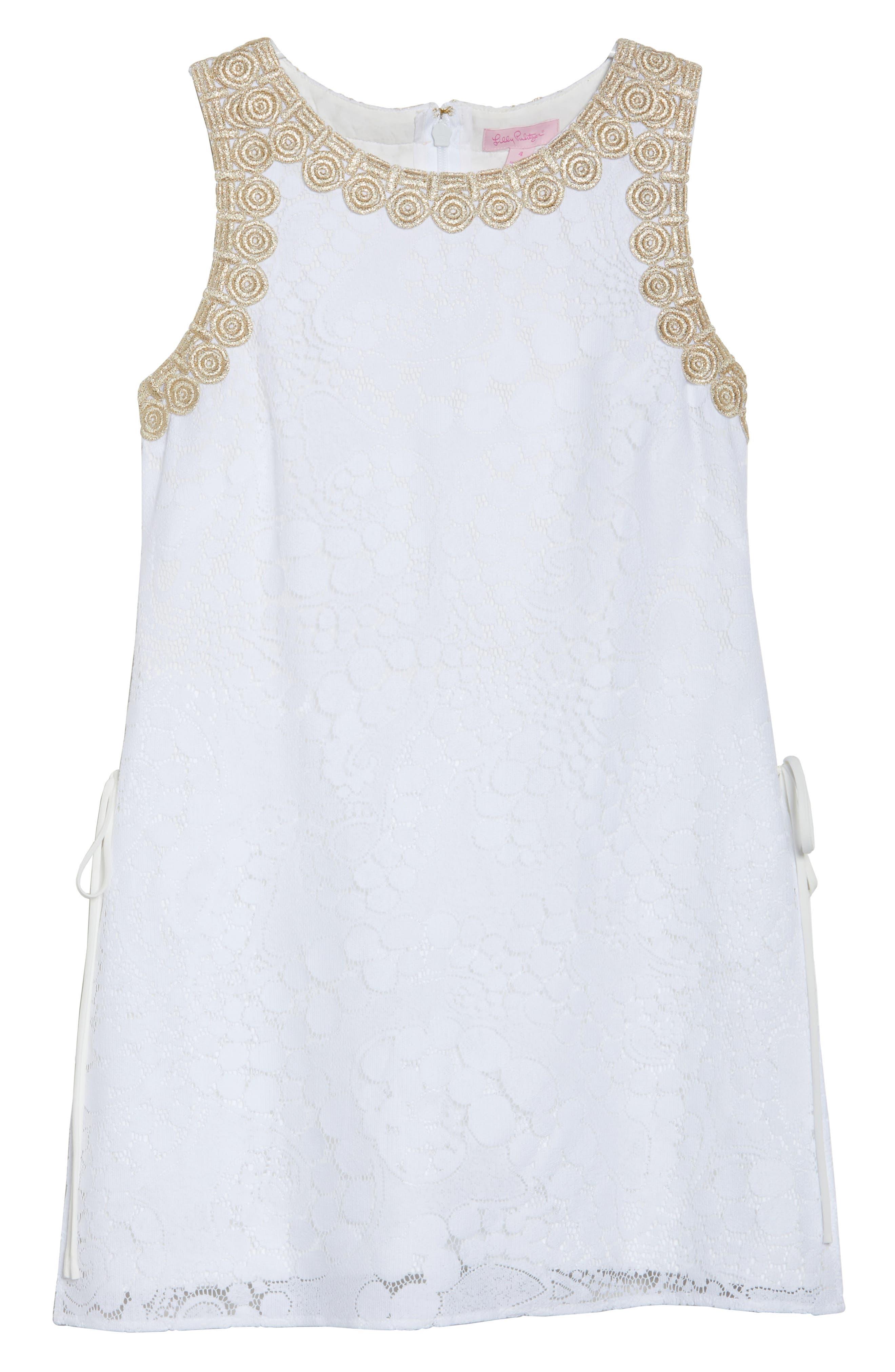 Donna Lace Romper,                             Alternate thumbnail 7, color,                             Resort White Mocean Lace