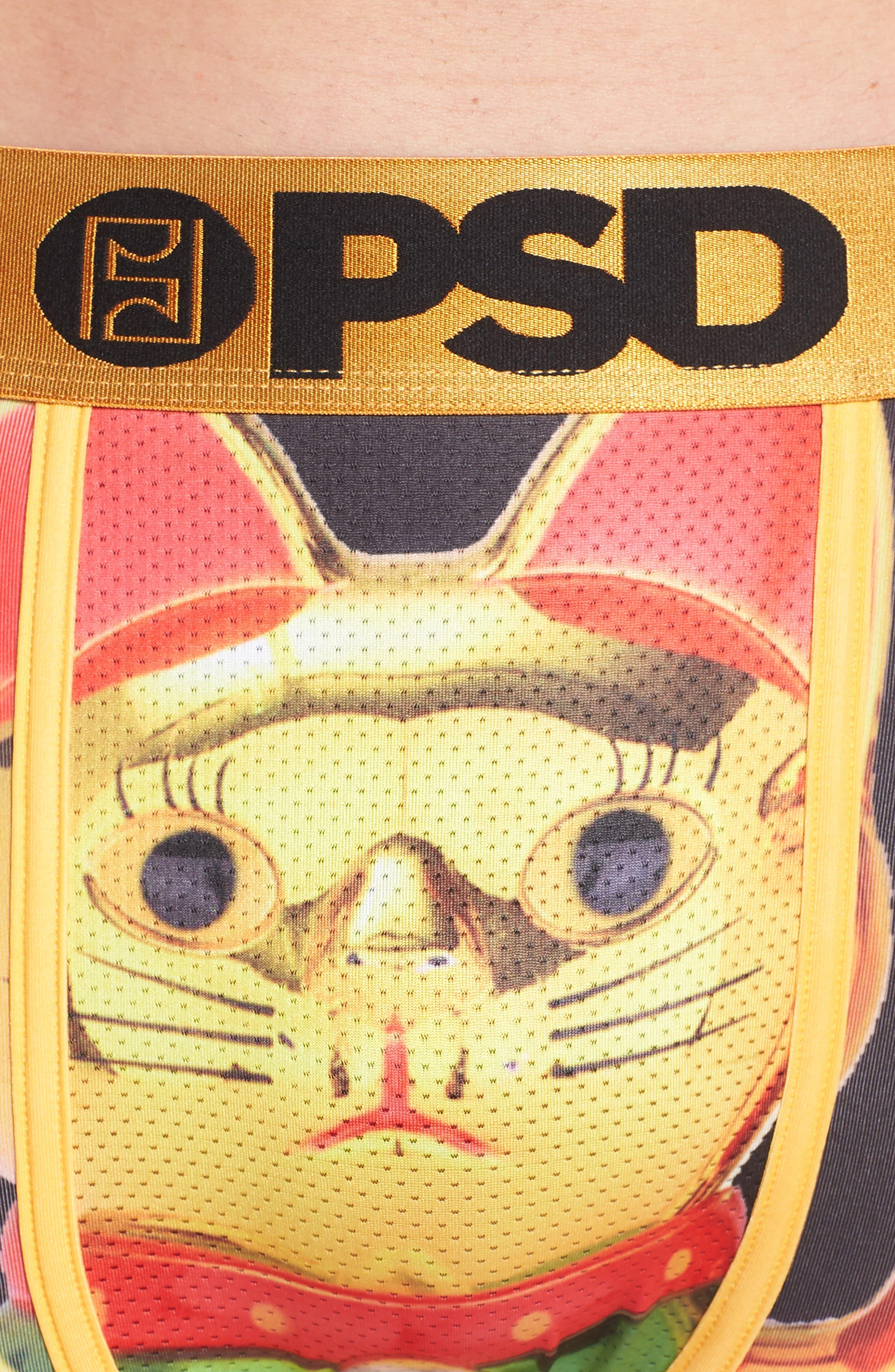 Alternate Image 4  - PSD Golden Kitty Boxer Briefs