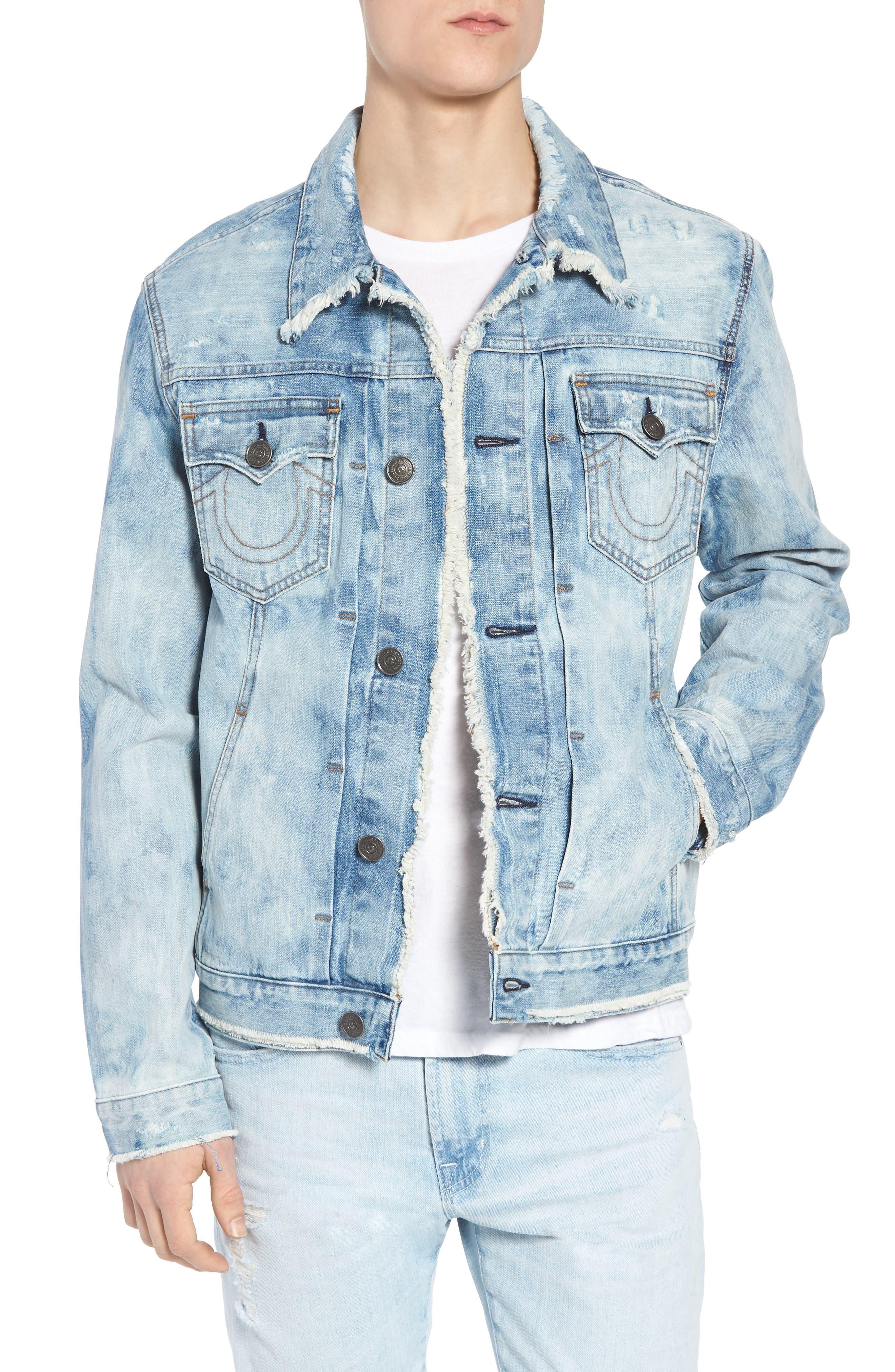 Dylan Denim Jacket,                             Main thumbnail 1, color,                             Blue