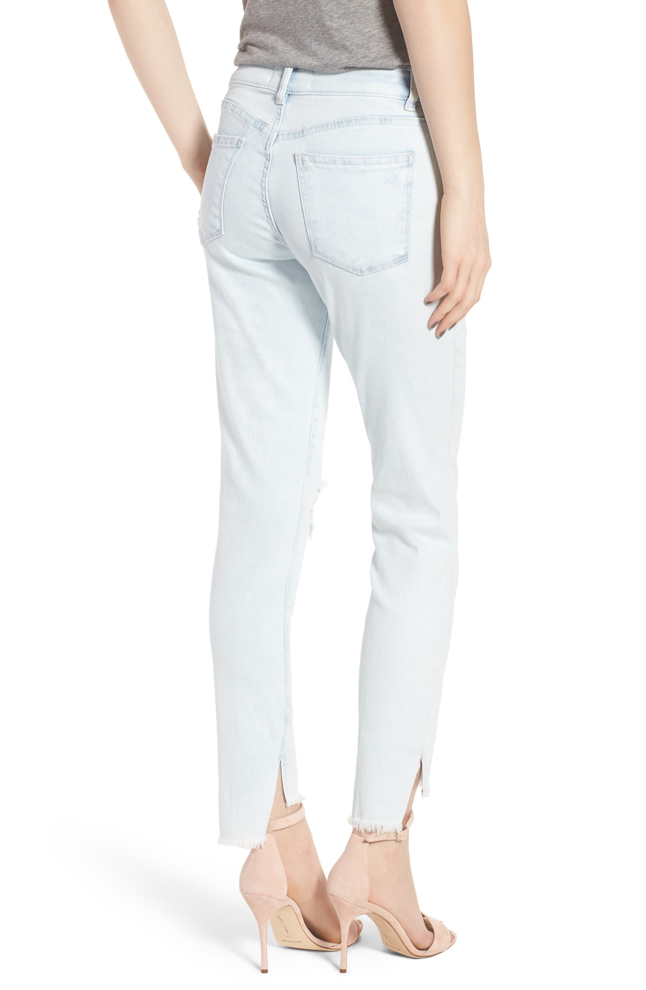 Margaux Instasculpt Ankle Skinny Jeans,                             Alternate thumbnail 2, color,                             Kodak
