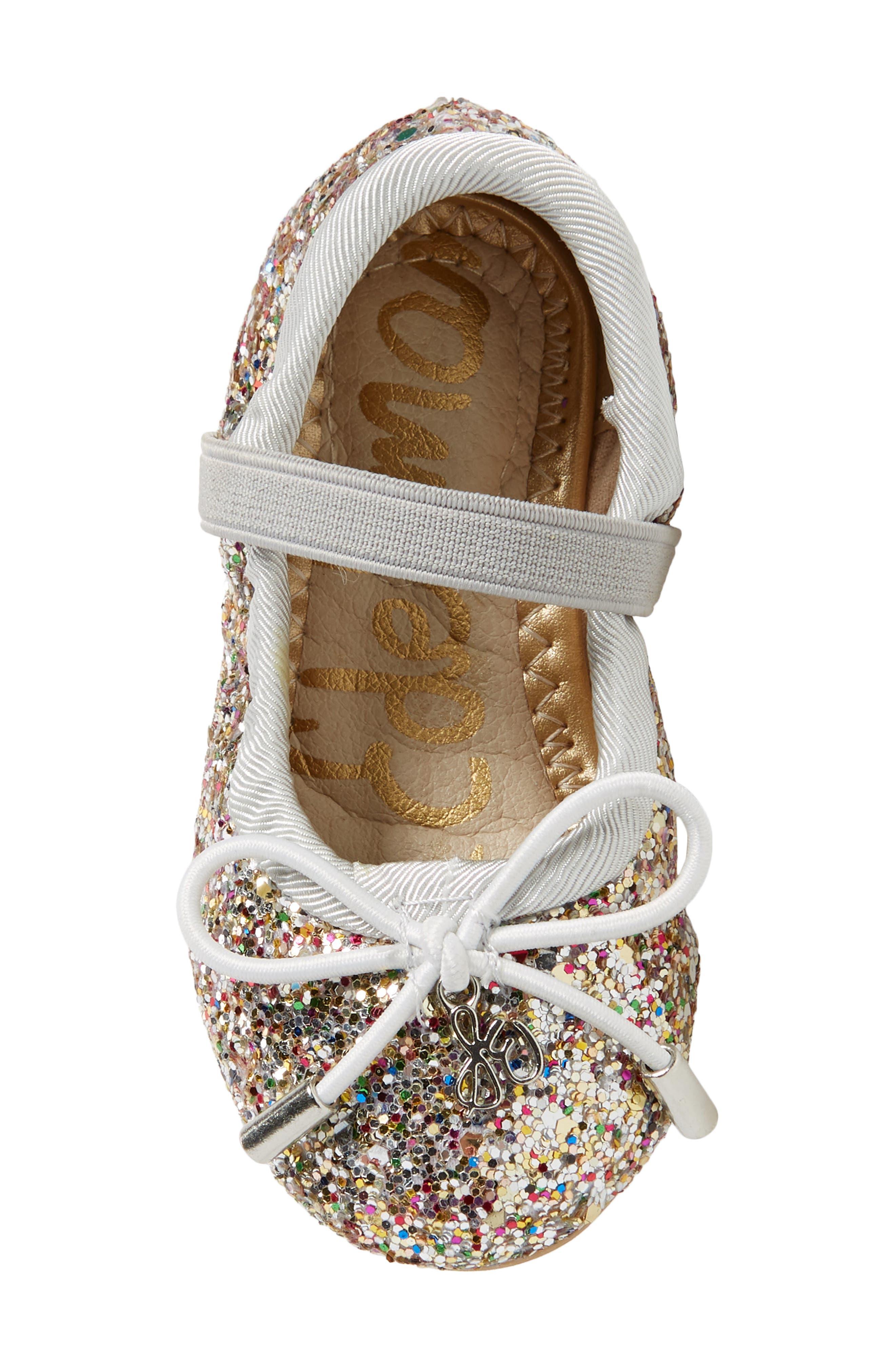 Alternate Image 5  - Sam Edelman 'Felicia' Mary Jane Ballet Flat (Toddler)