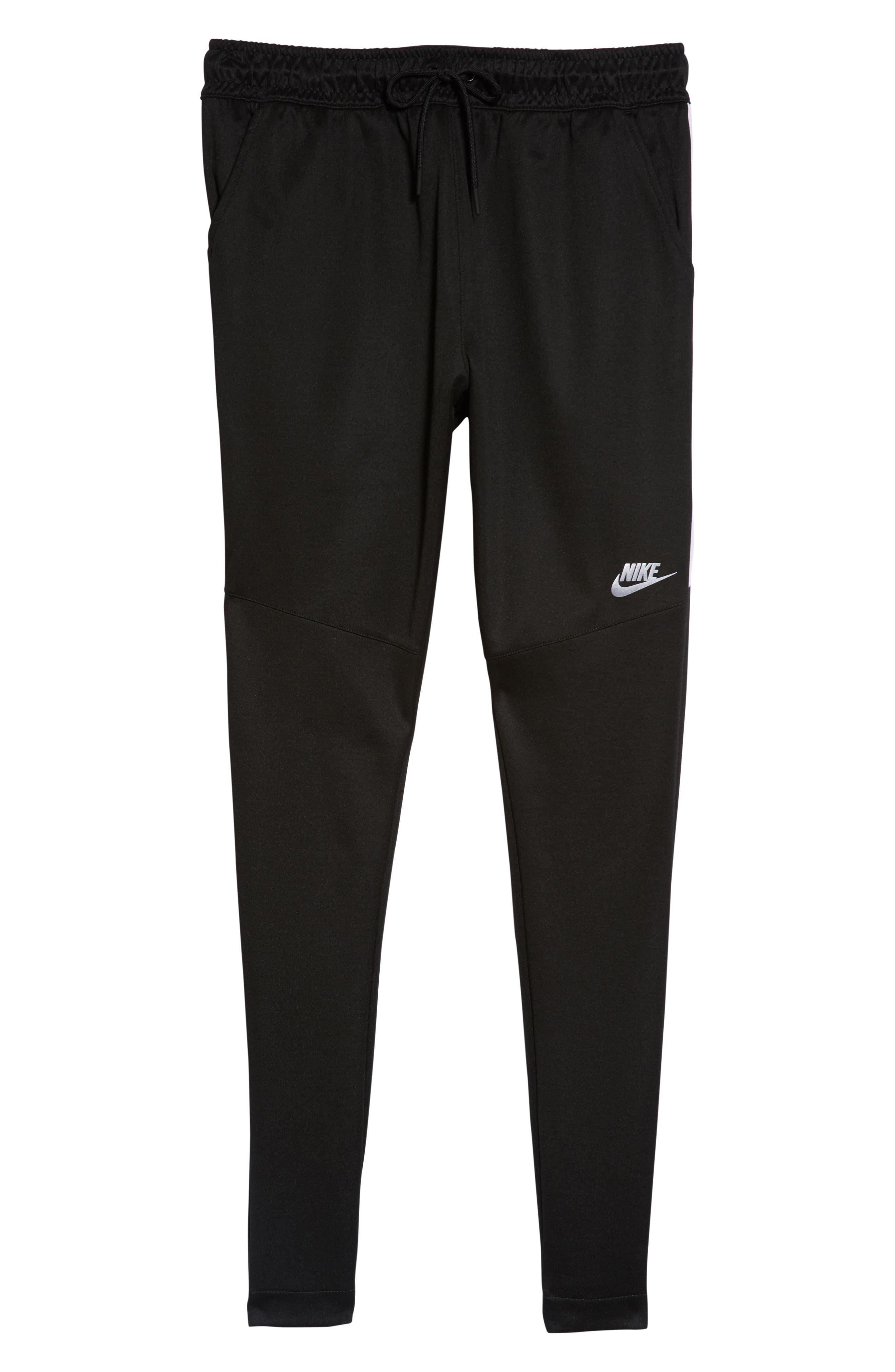 NSW Tribute Jogger Pants,                             Alternate thumbnail 6, color,                             Black/ White/ White