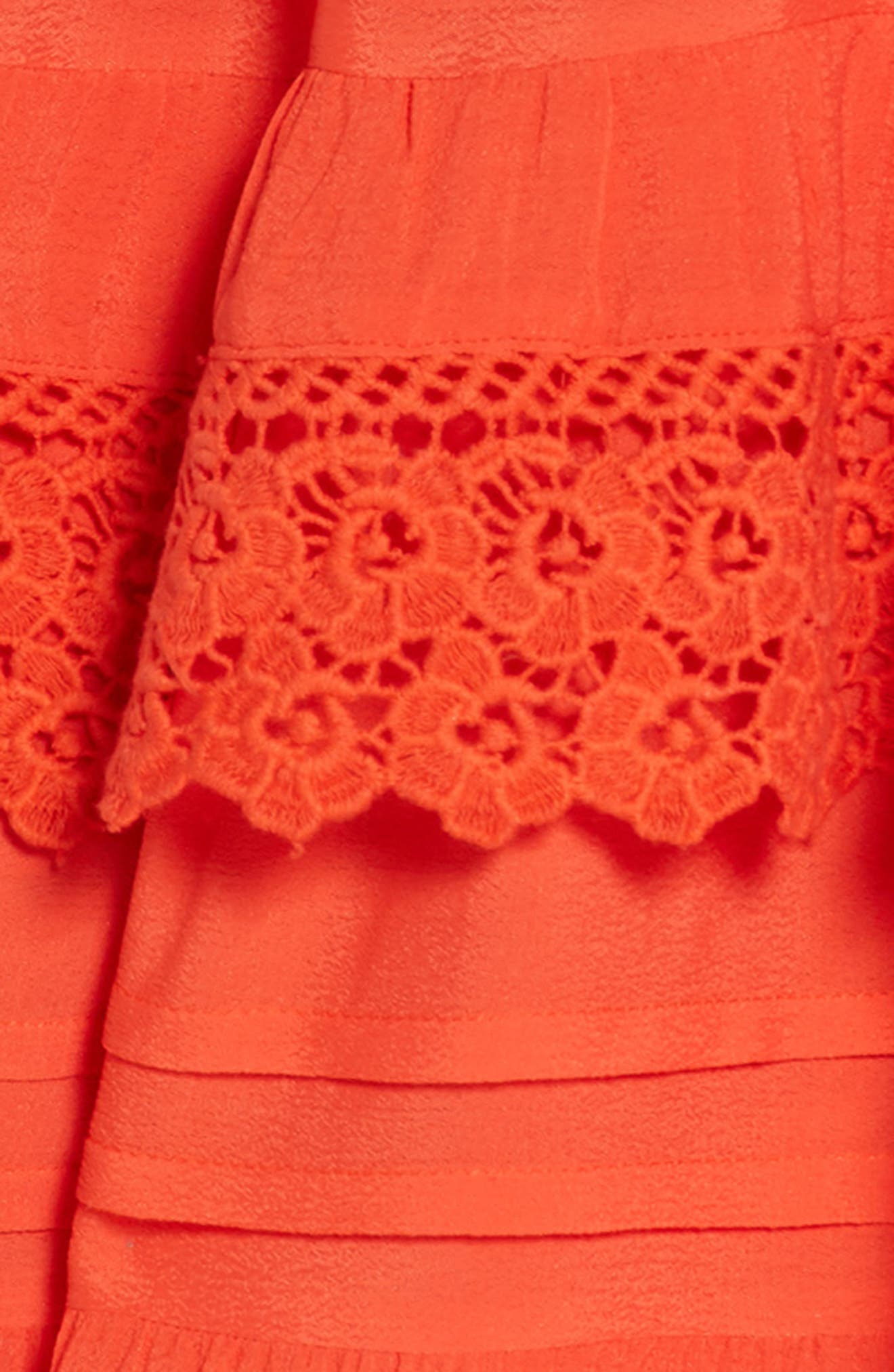 Esmerelda Cover-Up Dress,                             Alternate thumbnail 2, color,                             Red