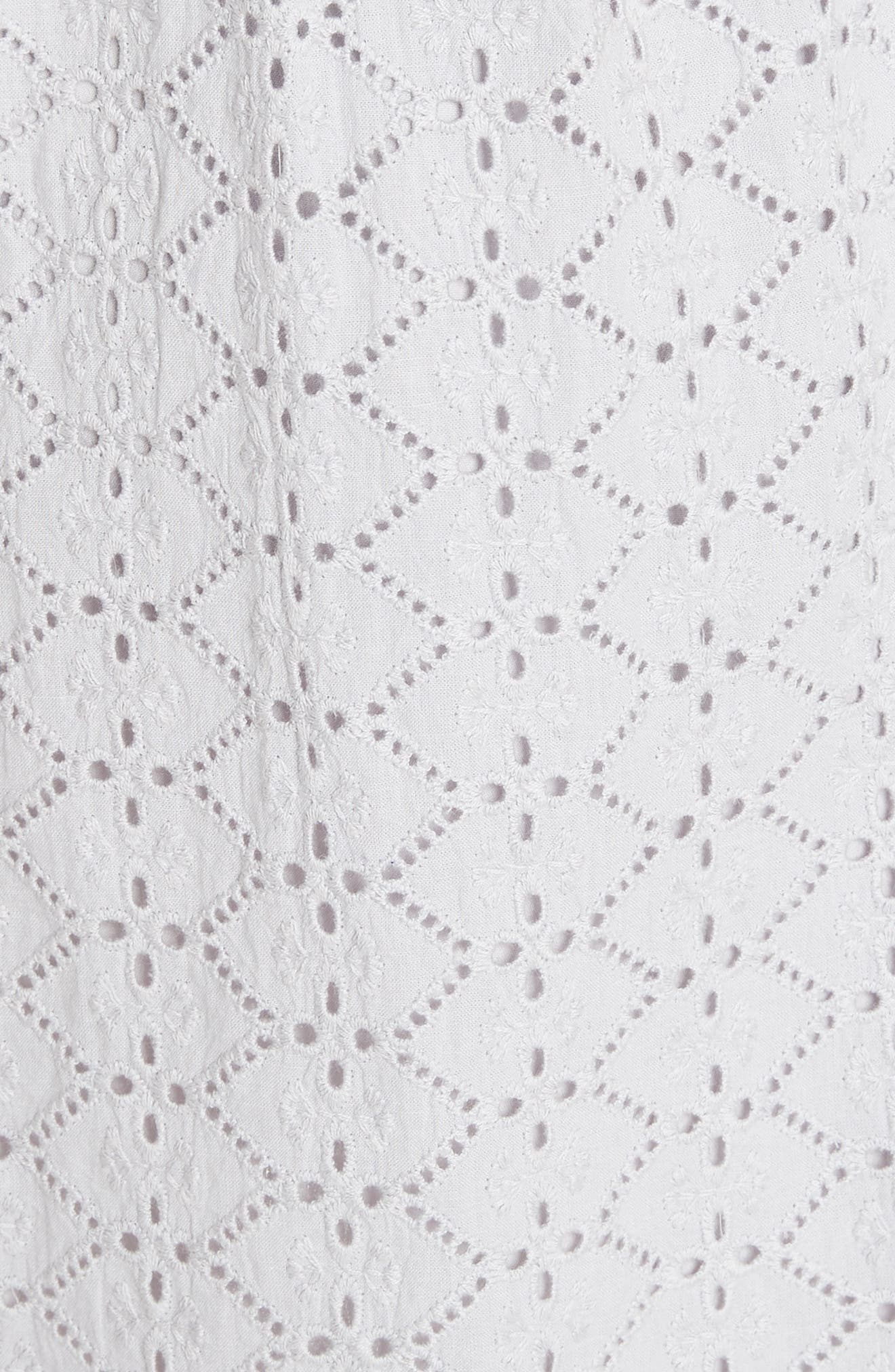 Alternate Image 5  - Needle & Thread Tiled Broderie Anglaise Lace Dress