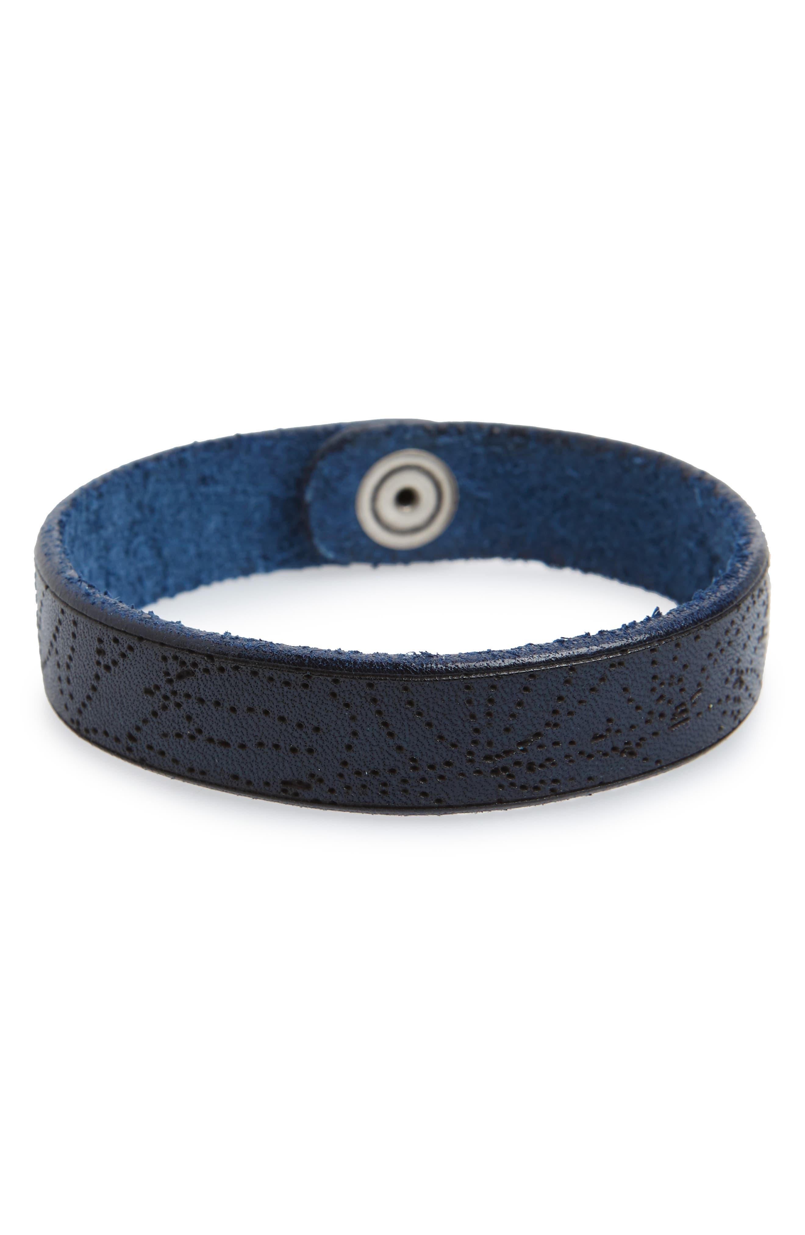 Main Image - Orciani Stain Leather Bracelet