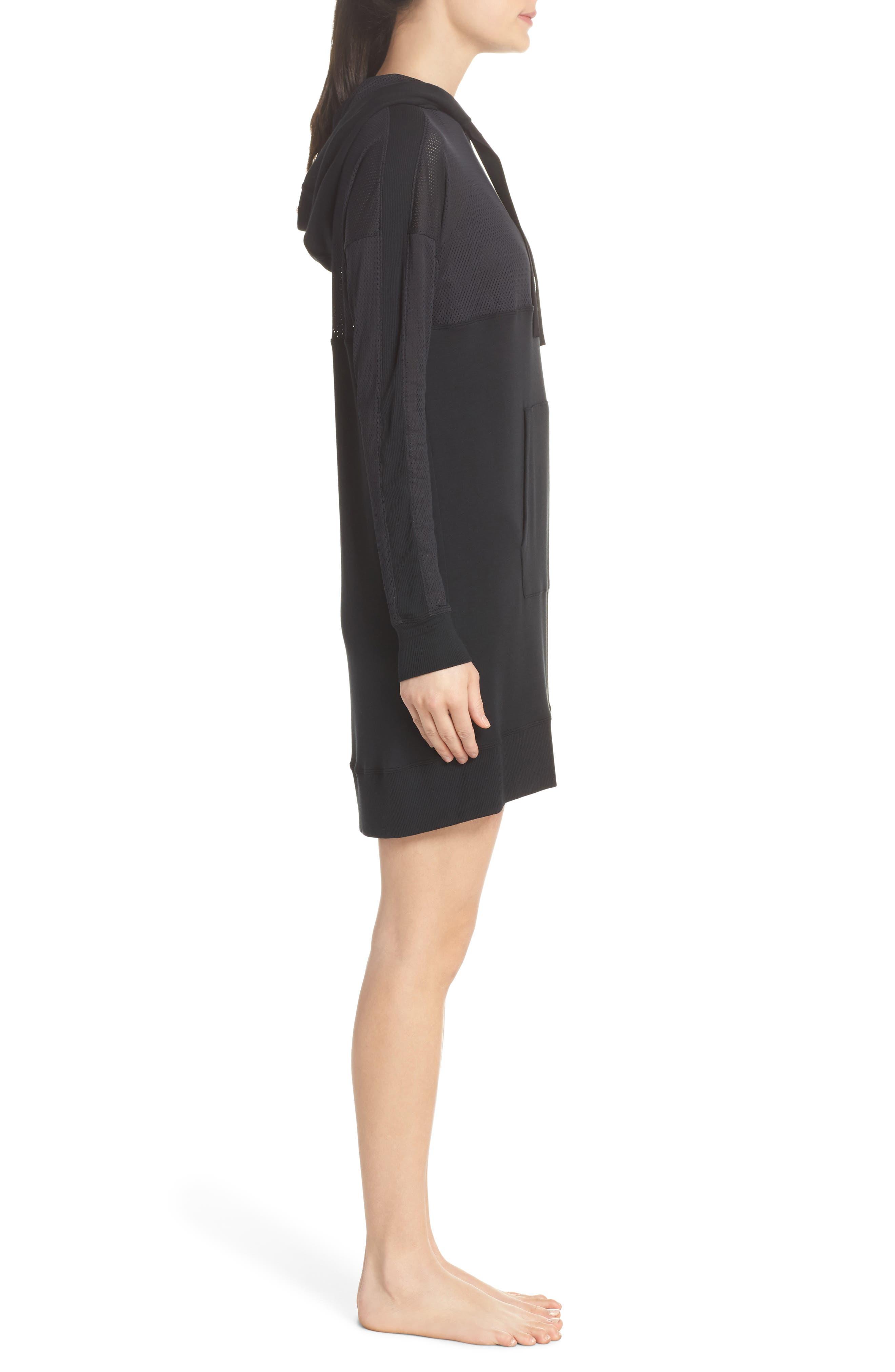 Range Dress,                             Alternate thumbnail 3, color,                             Black