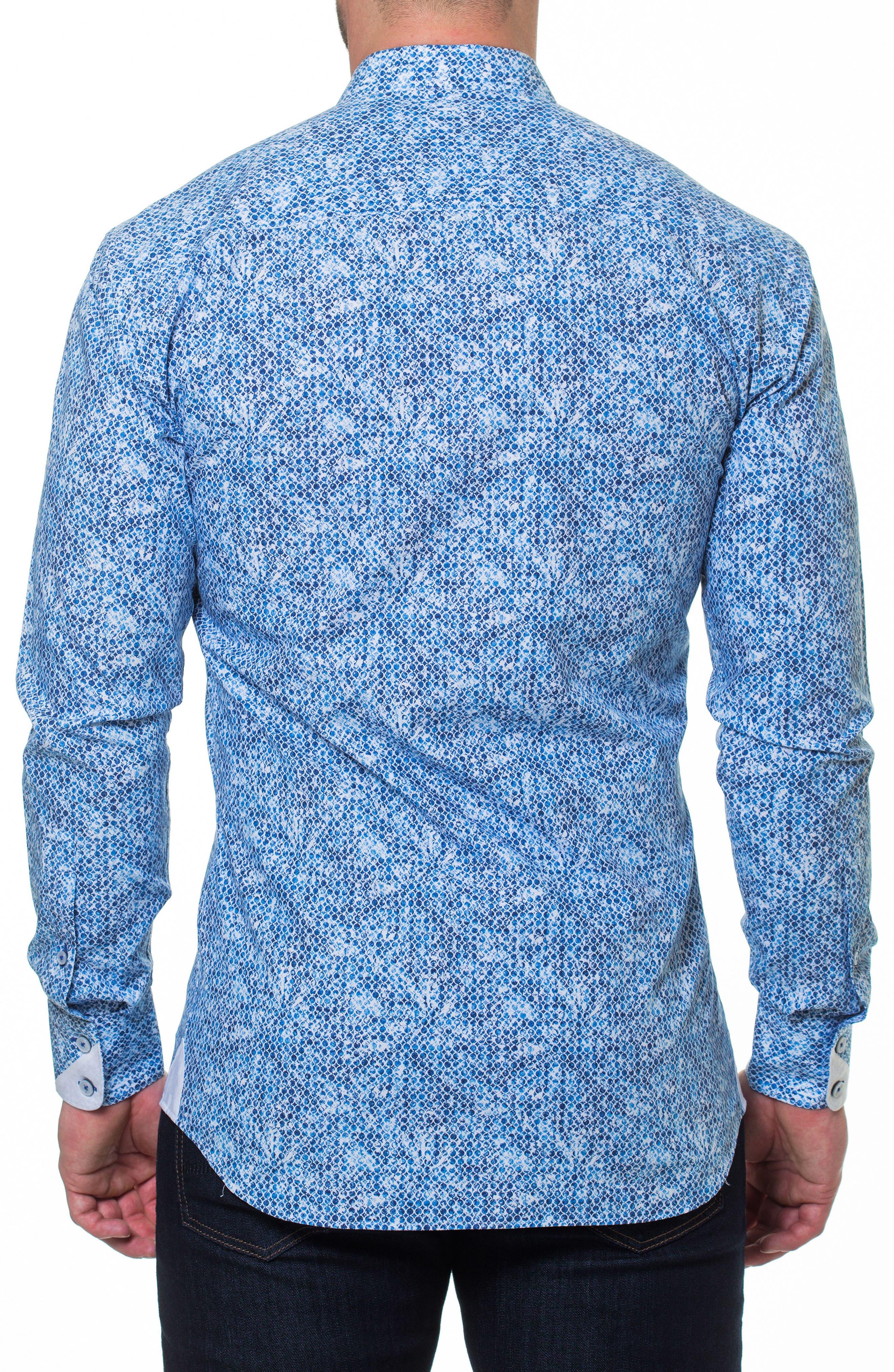 Luxor Ring Sport Shirt,                             Alternate thumbnail 2, color,                             Blue