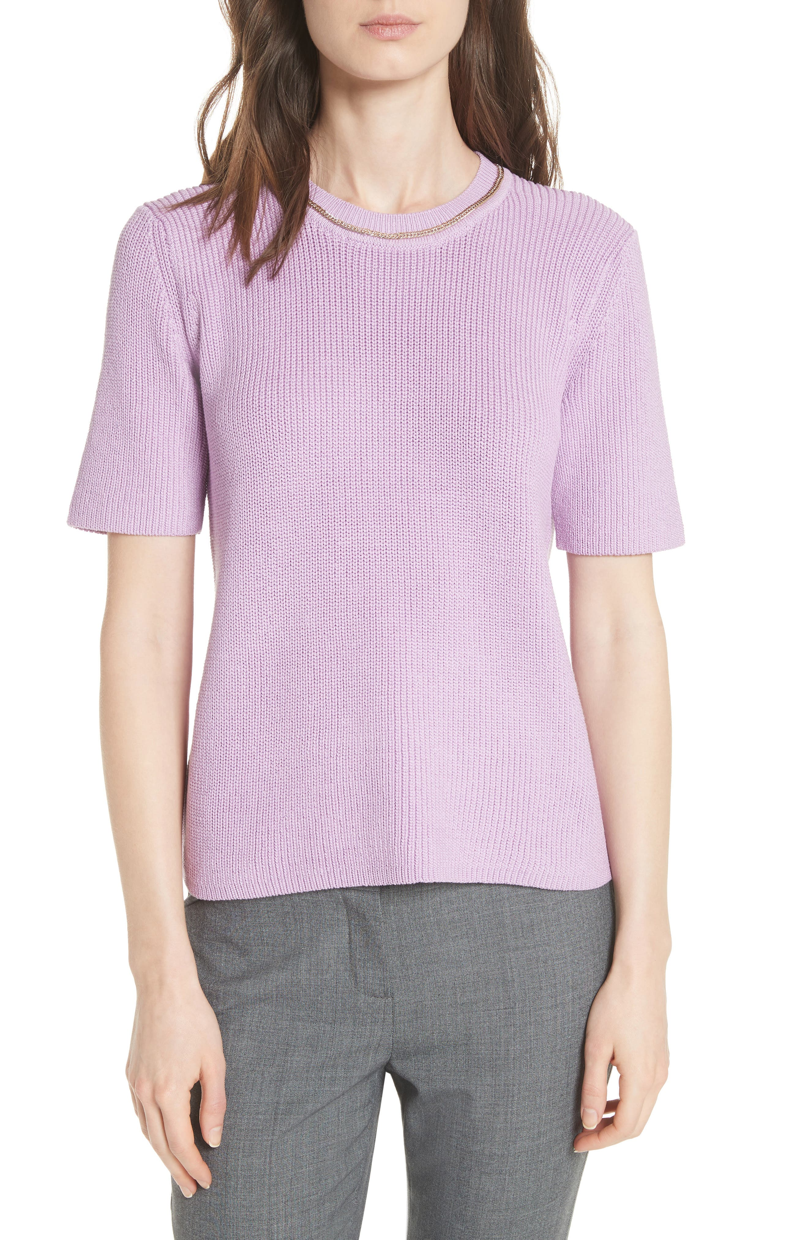 Magrite Sweater,                             Main thumbnail 1, color,                             Lilas