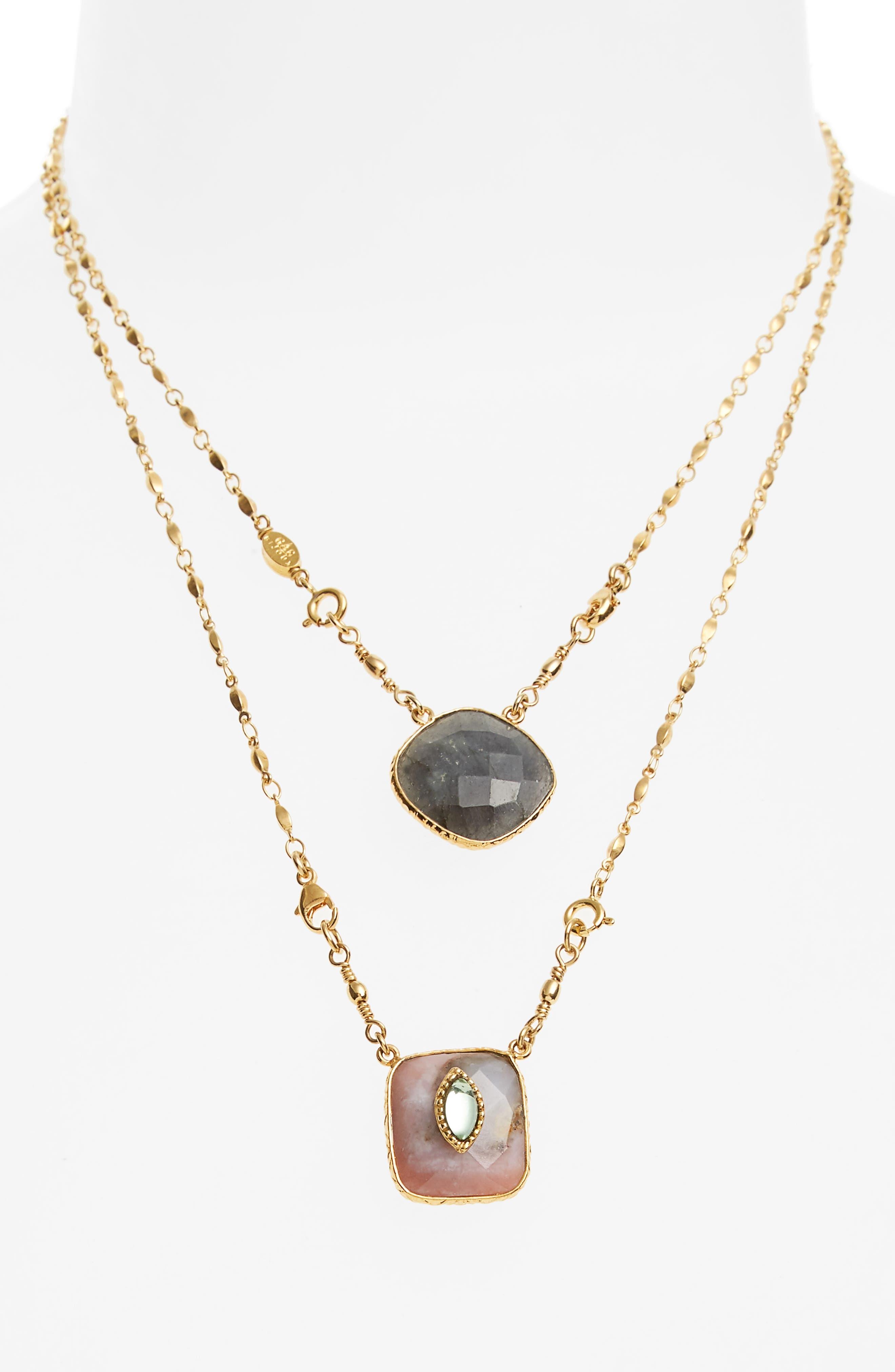 Gas Bijoux Scapulaire Convertible Pendant Necklace