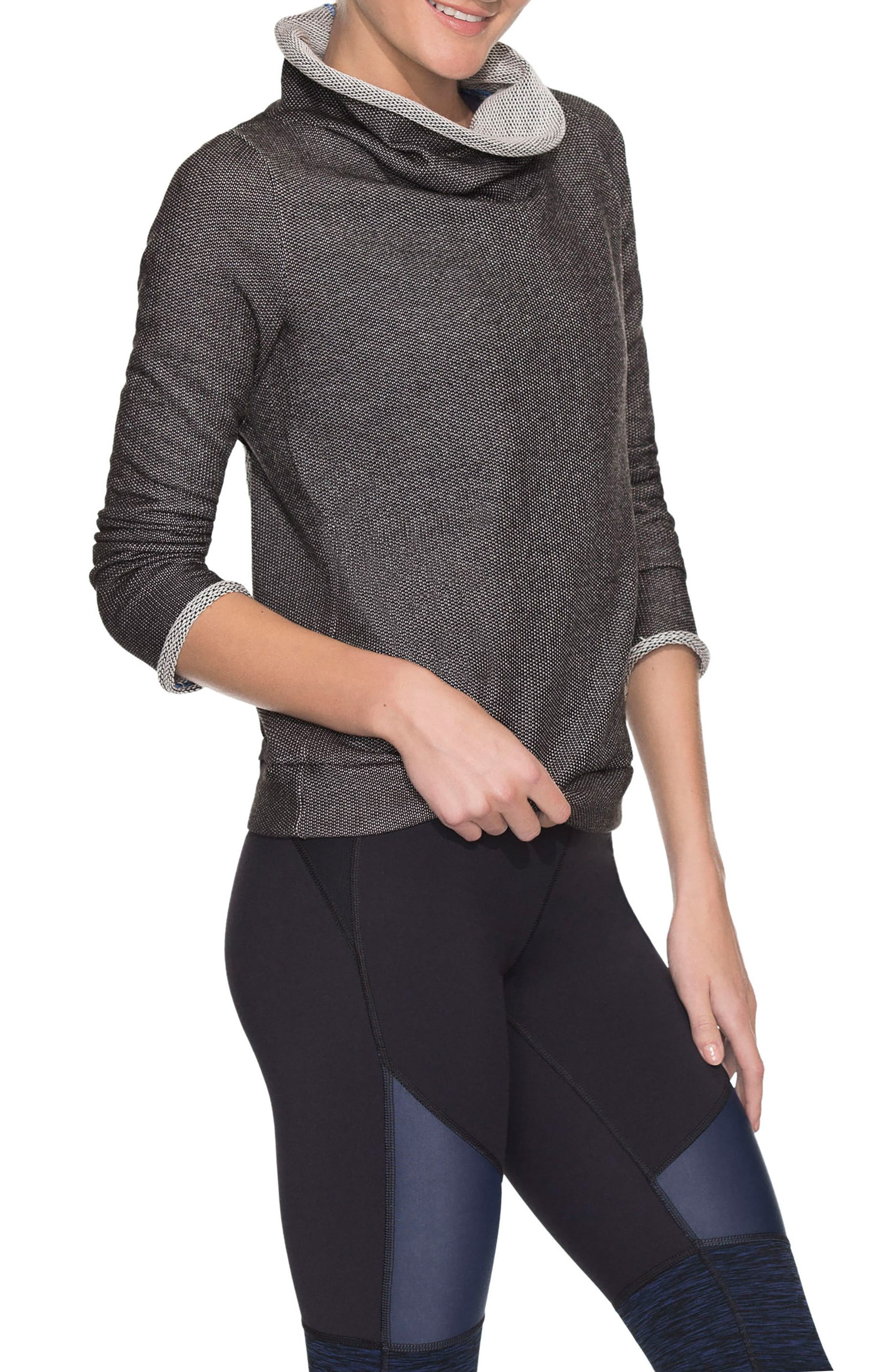Cloudburst Sweatshirt,                             Main thumbnail 1, color,                             Black