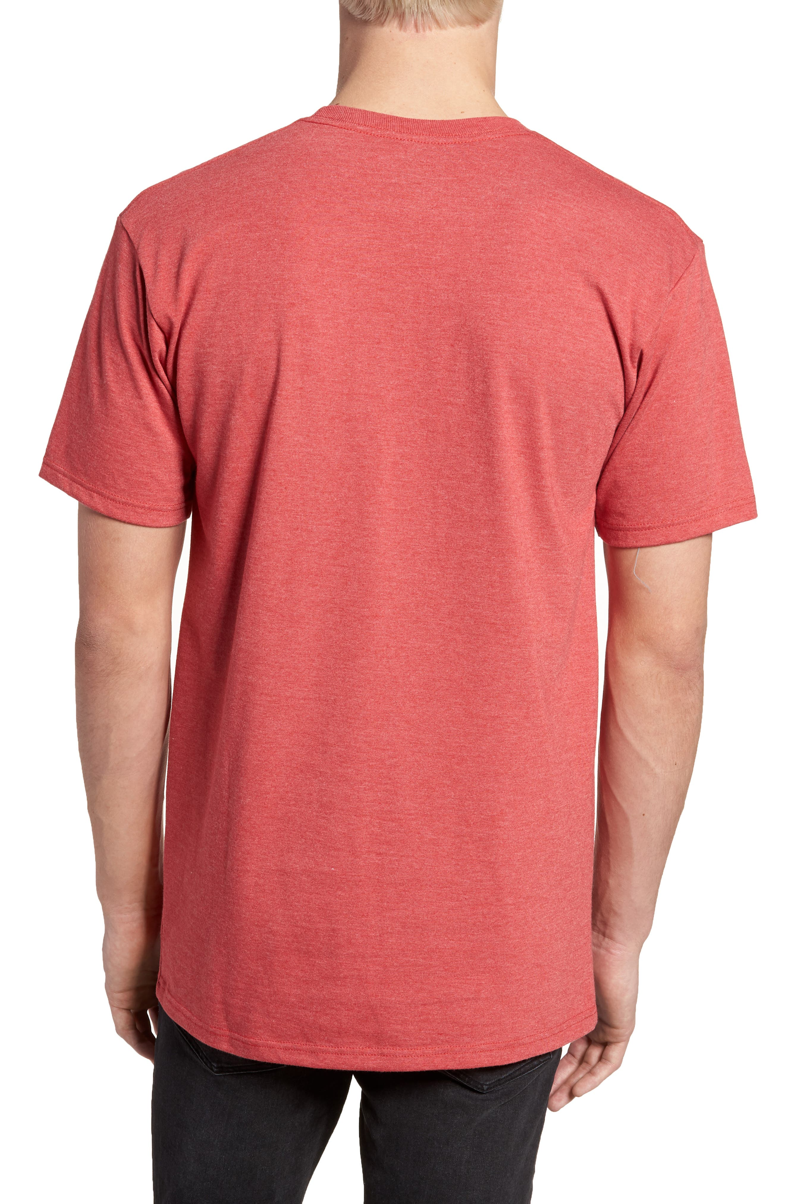 MFG Graphic T-Shirt,                             Alternate thumbnail 2, color,                             Red Heather