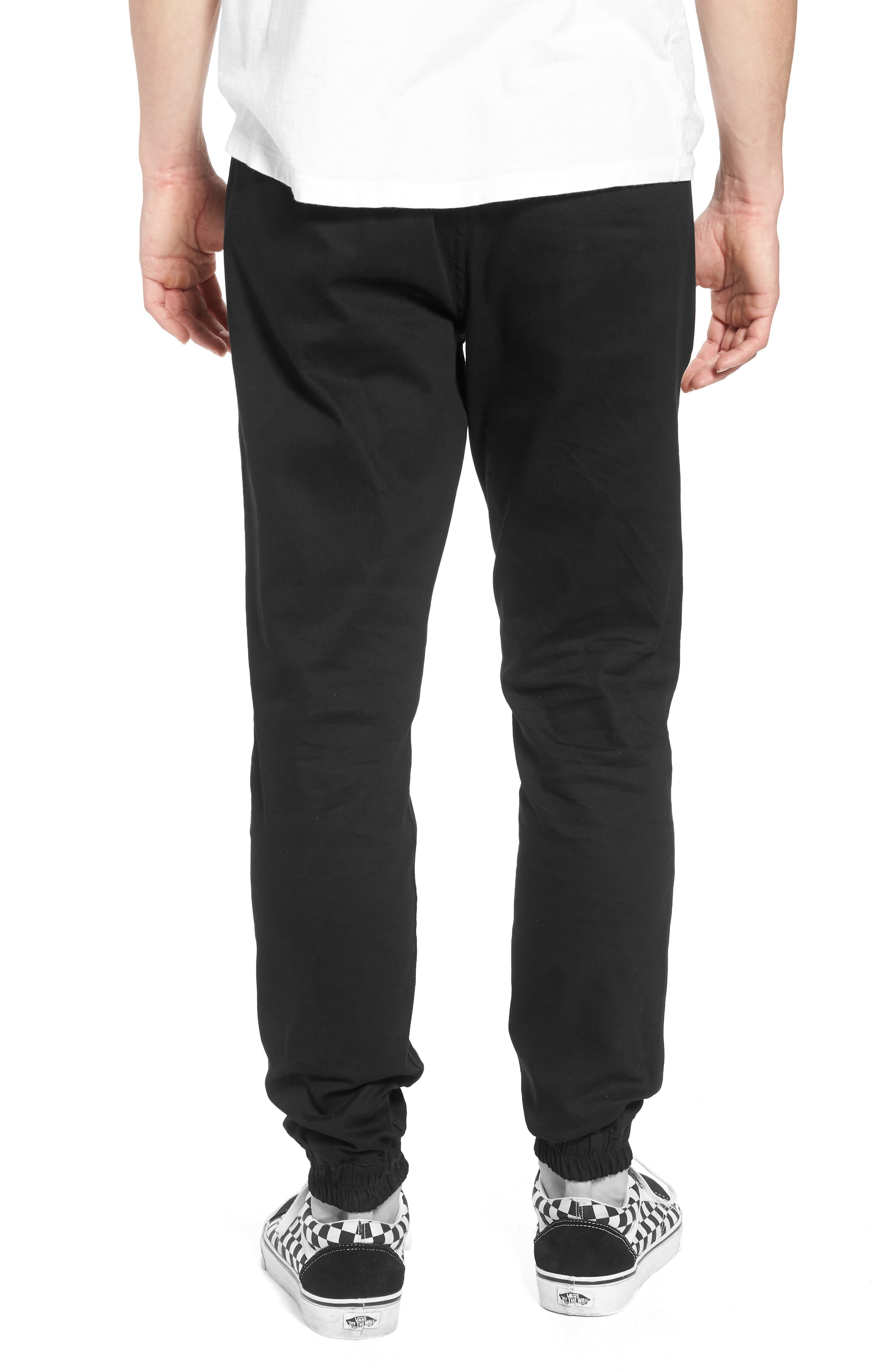 Runner Slim Fit Jogger Pants,                             Alternate thumbnail 2, color,                             Black