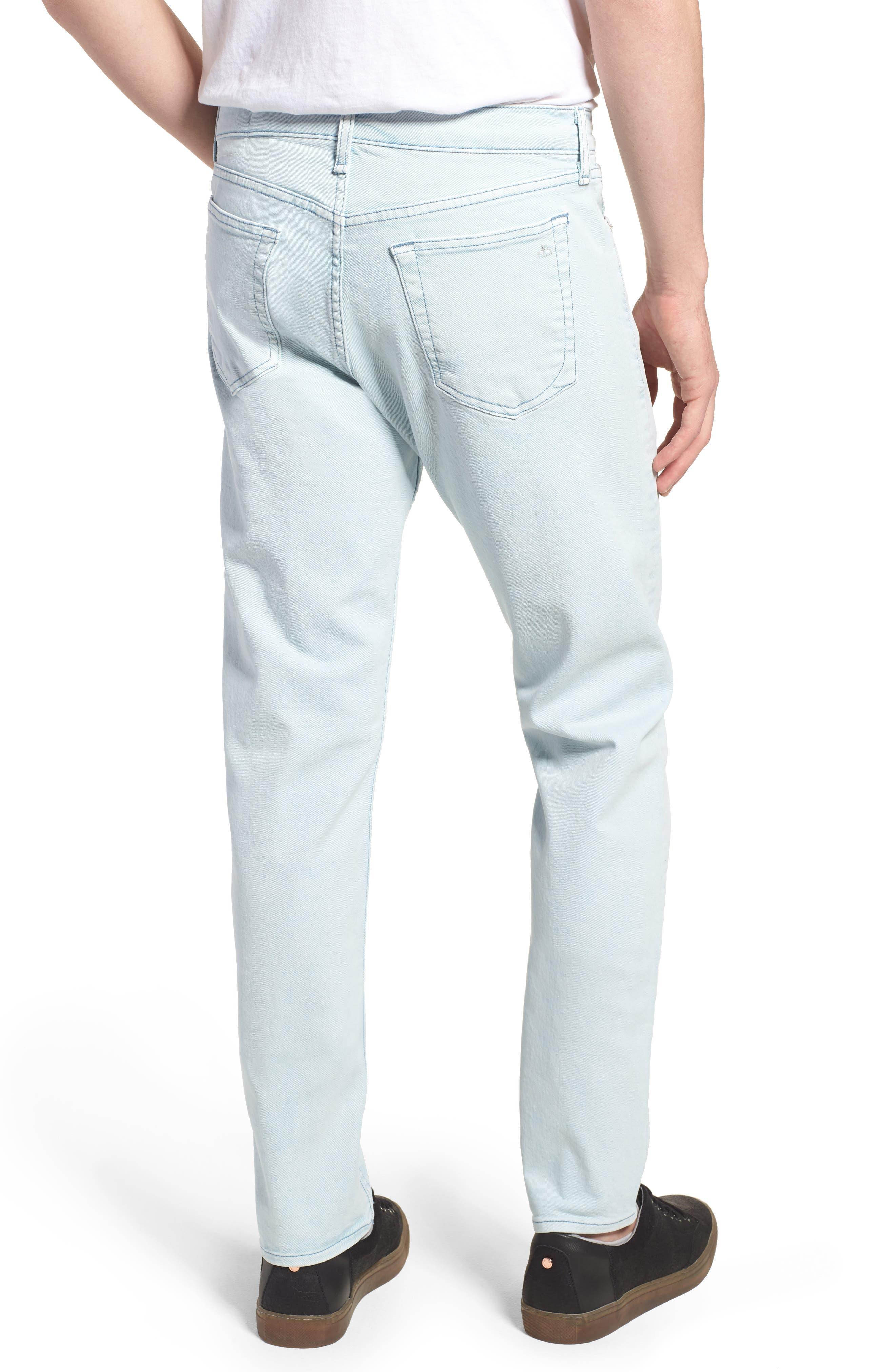 Fit 2 Slim Fit Jeans,                             Alternate thumbnail 2, color,                             Light Blue Pigment