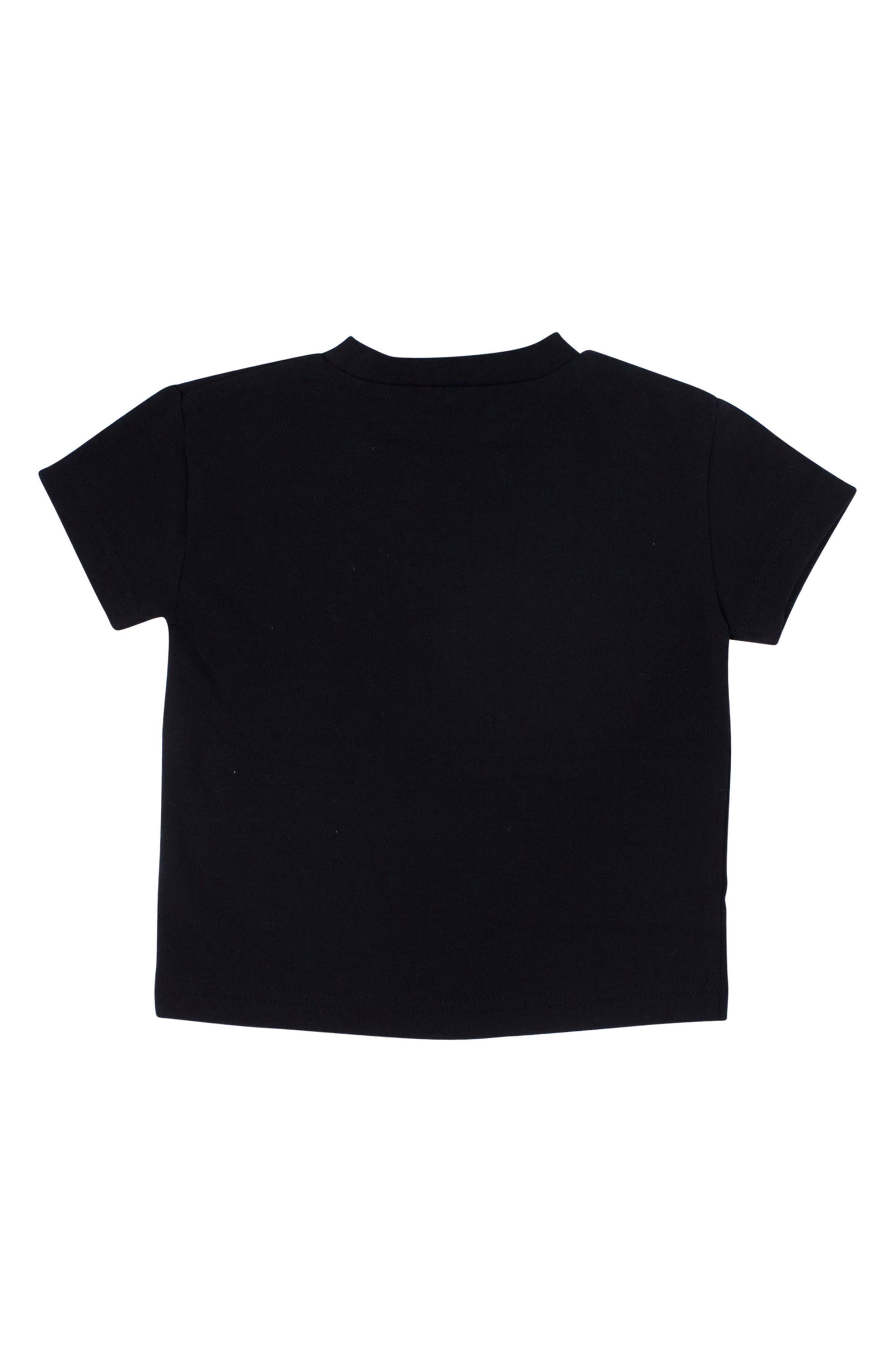 Chicken Nuggets T-Shirt,                             Alternate thumbnail 2, color,                             Black