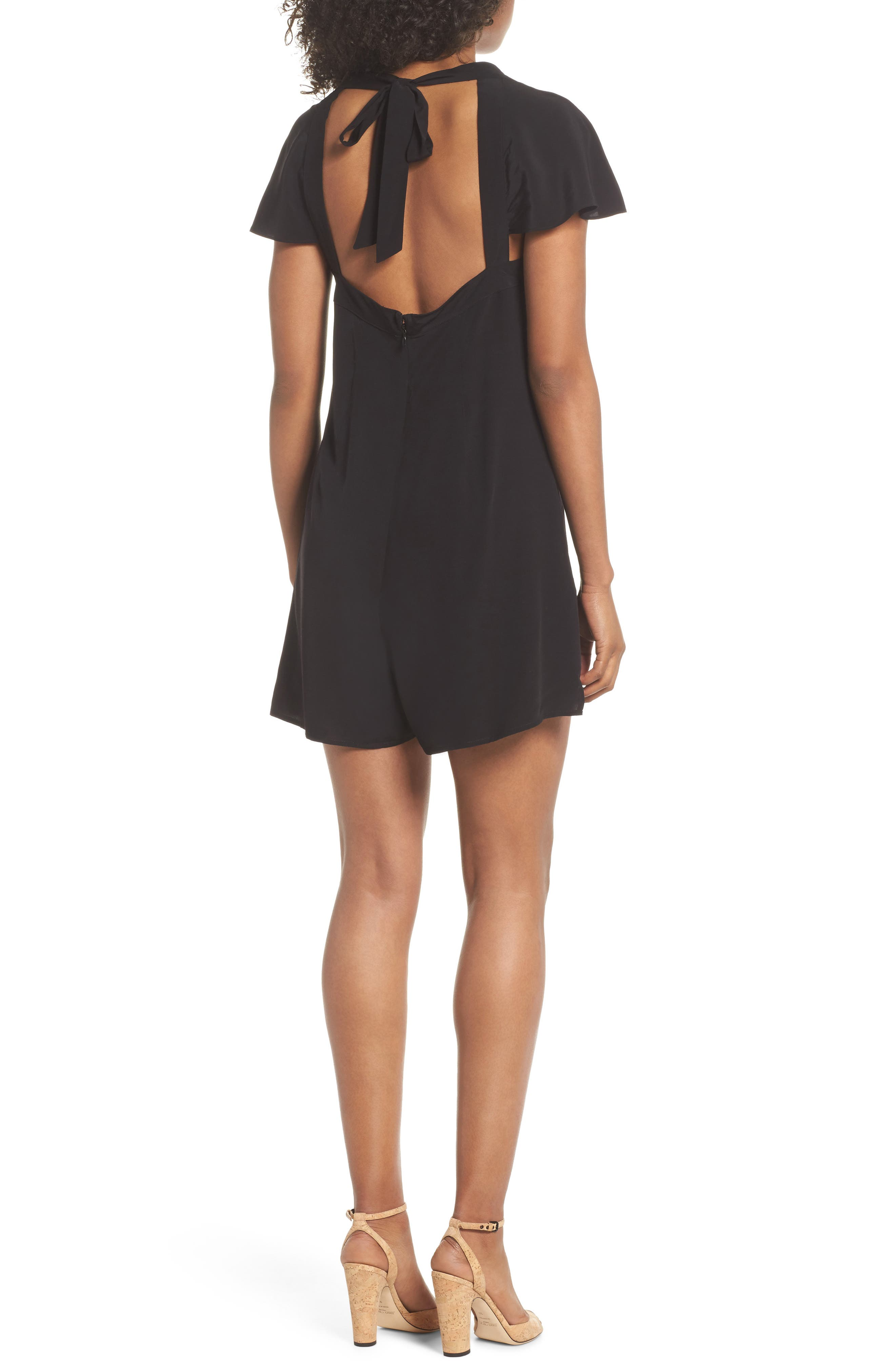 Alternate Image 2  - French Connection Kozani Drape Romper