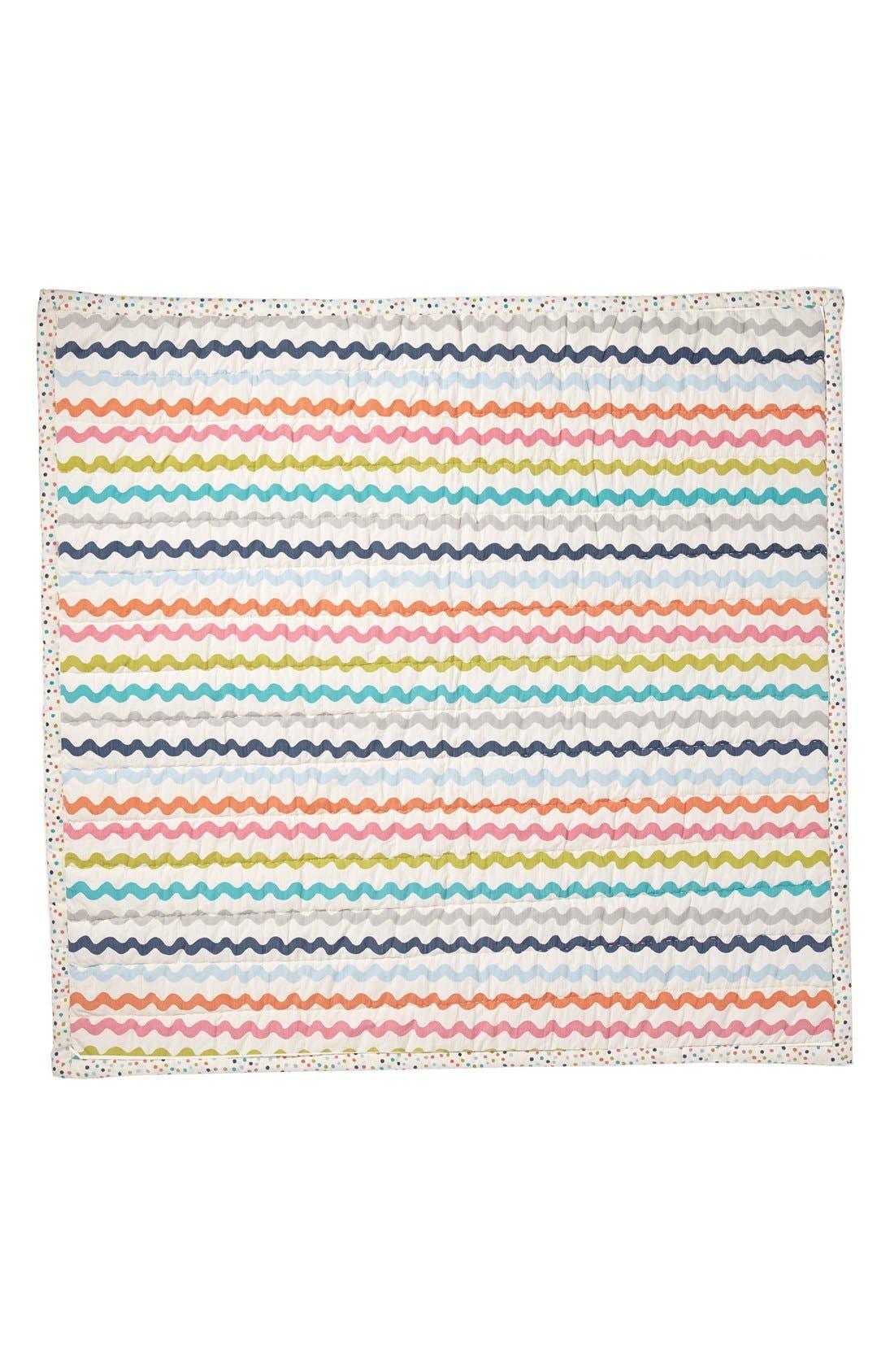 Alternate Image 3  - Petit Pehr 'Hi' Baby Blanket
