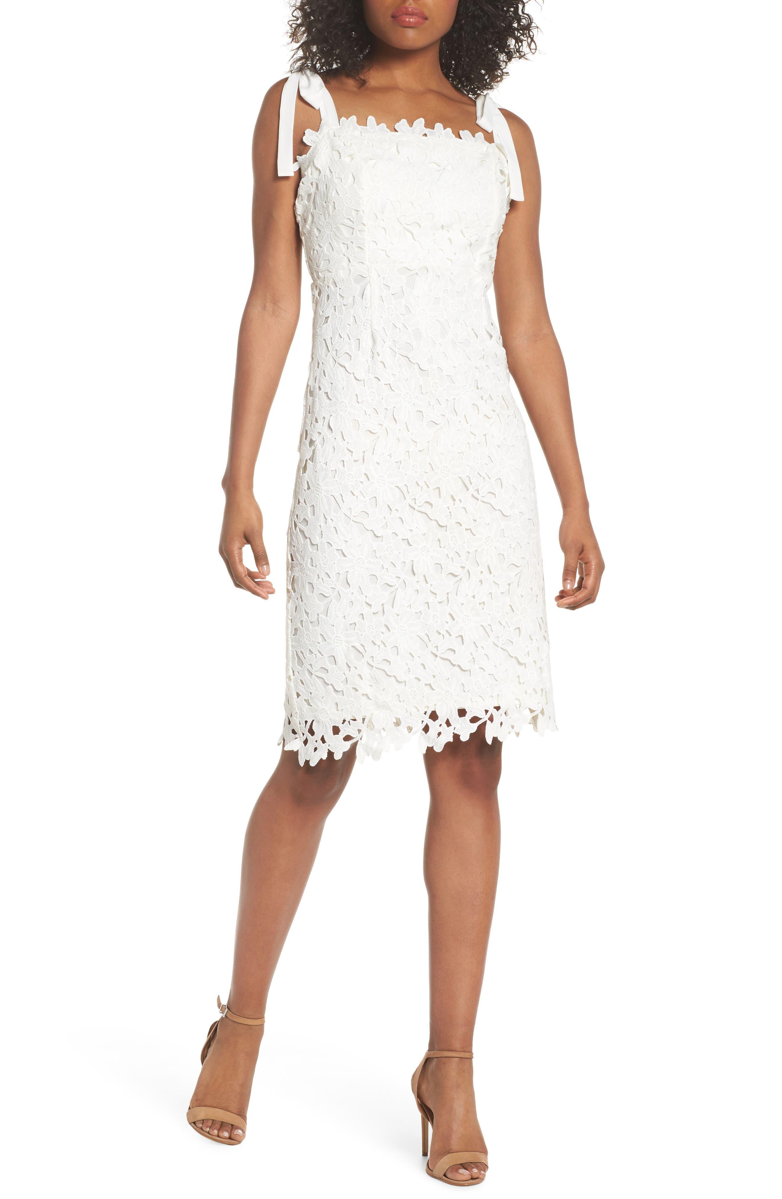 NSR Amy Lace Sheath Dress