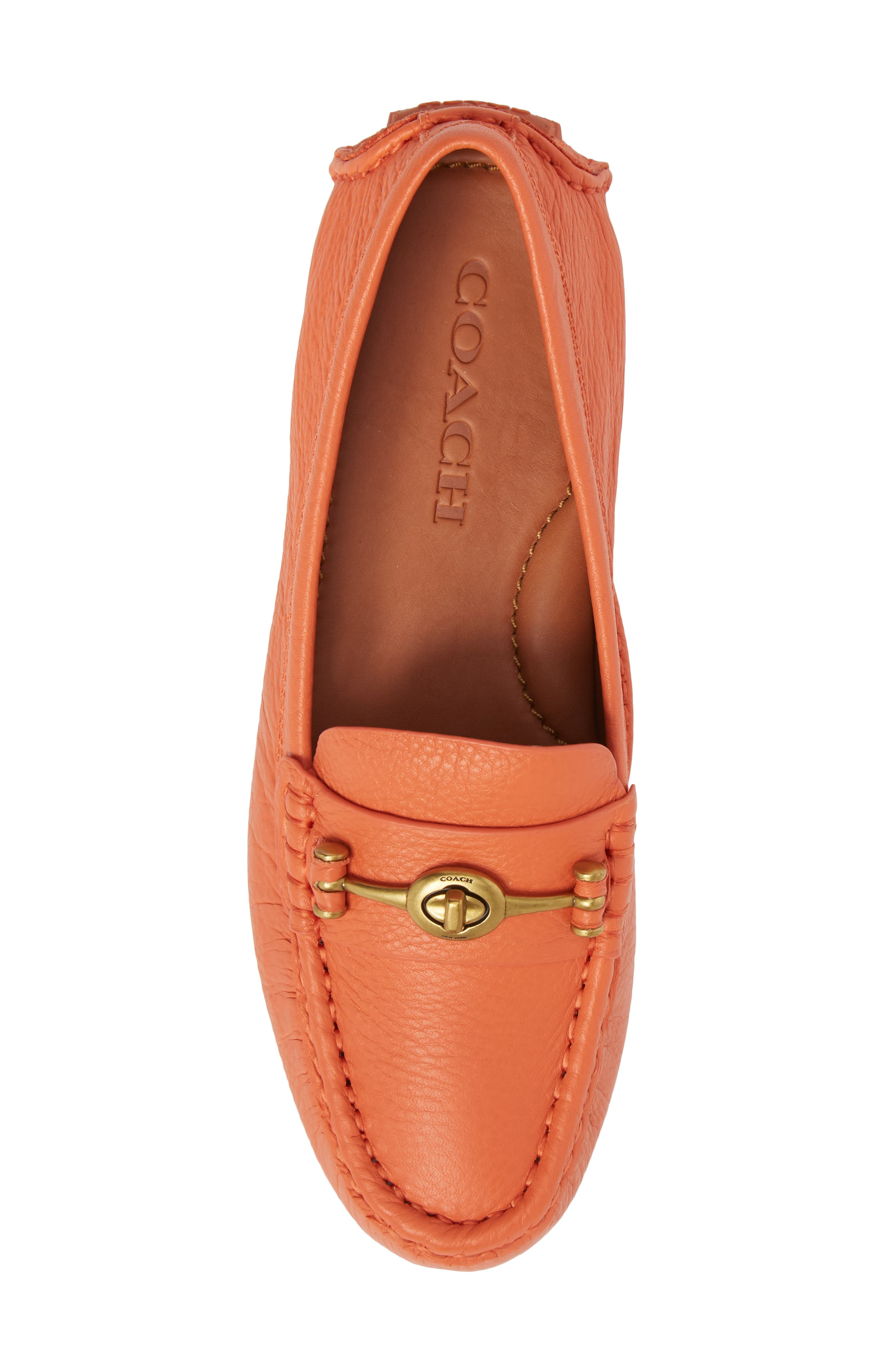 Alternate Image 5  - COACH Crosby Driver Loafer (Women)