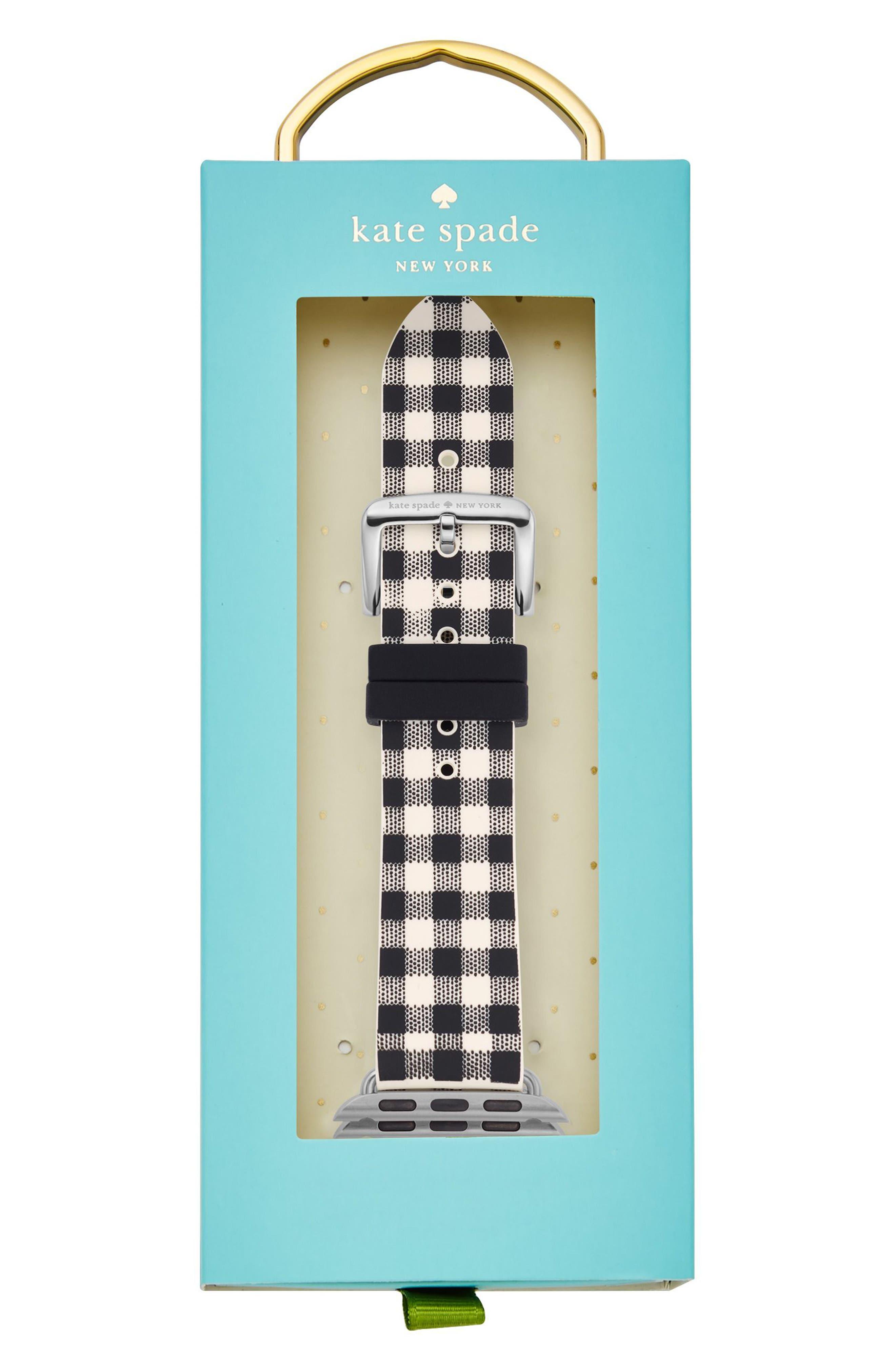 Apple Watch strap, 25mm,                             Alternate thumbnail 2, color,                             Black