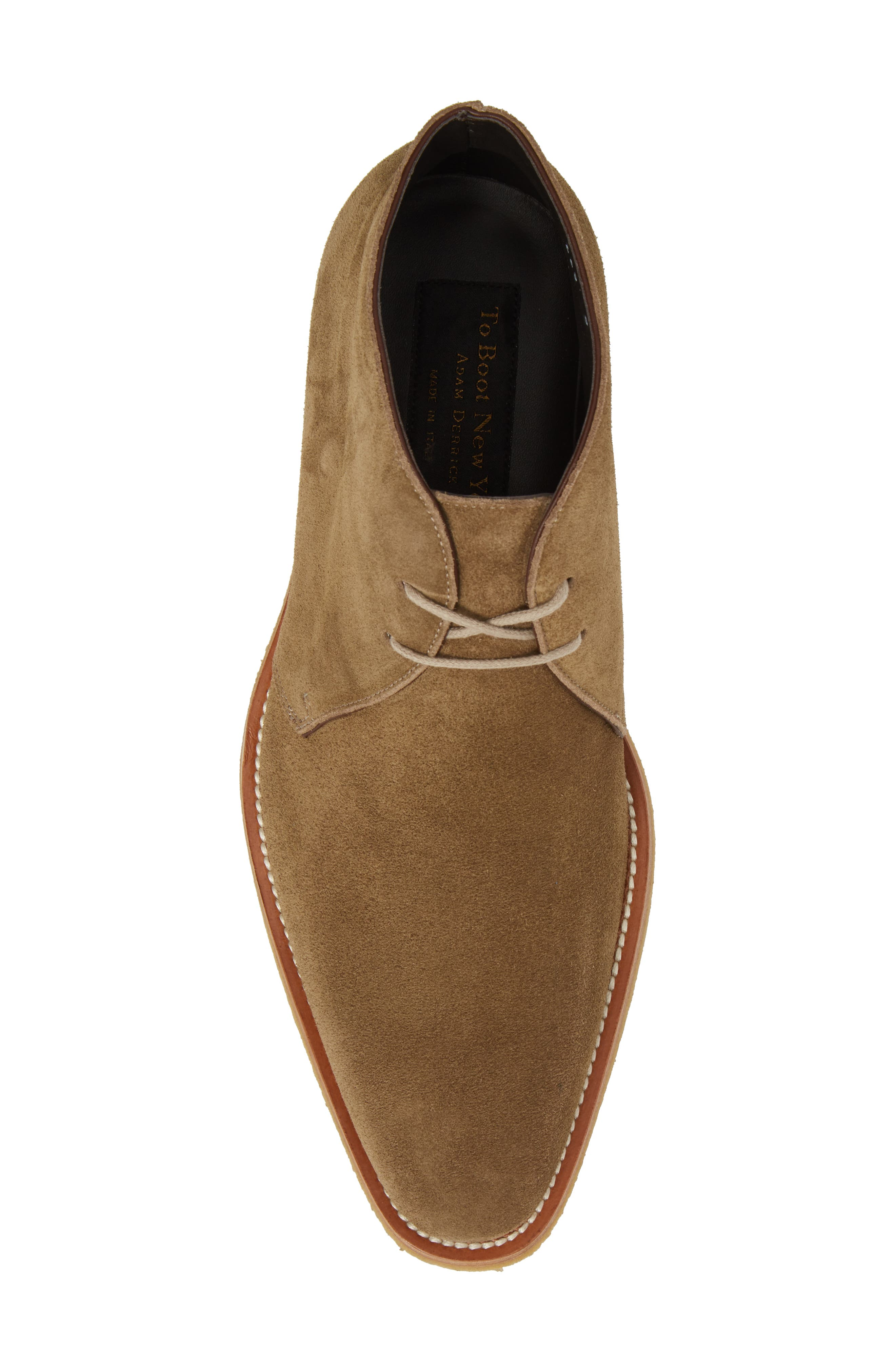 Banker Chukka Boot,                             Alternate thumbnail 5, color,                             Taupe Suede