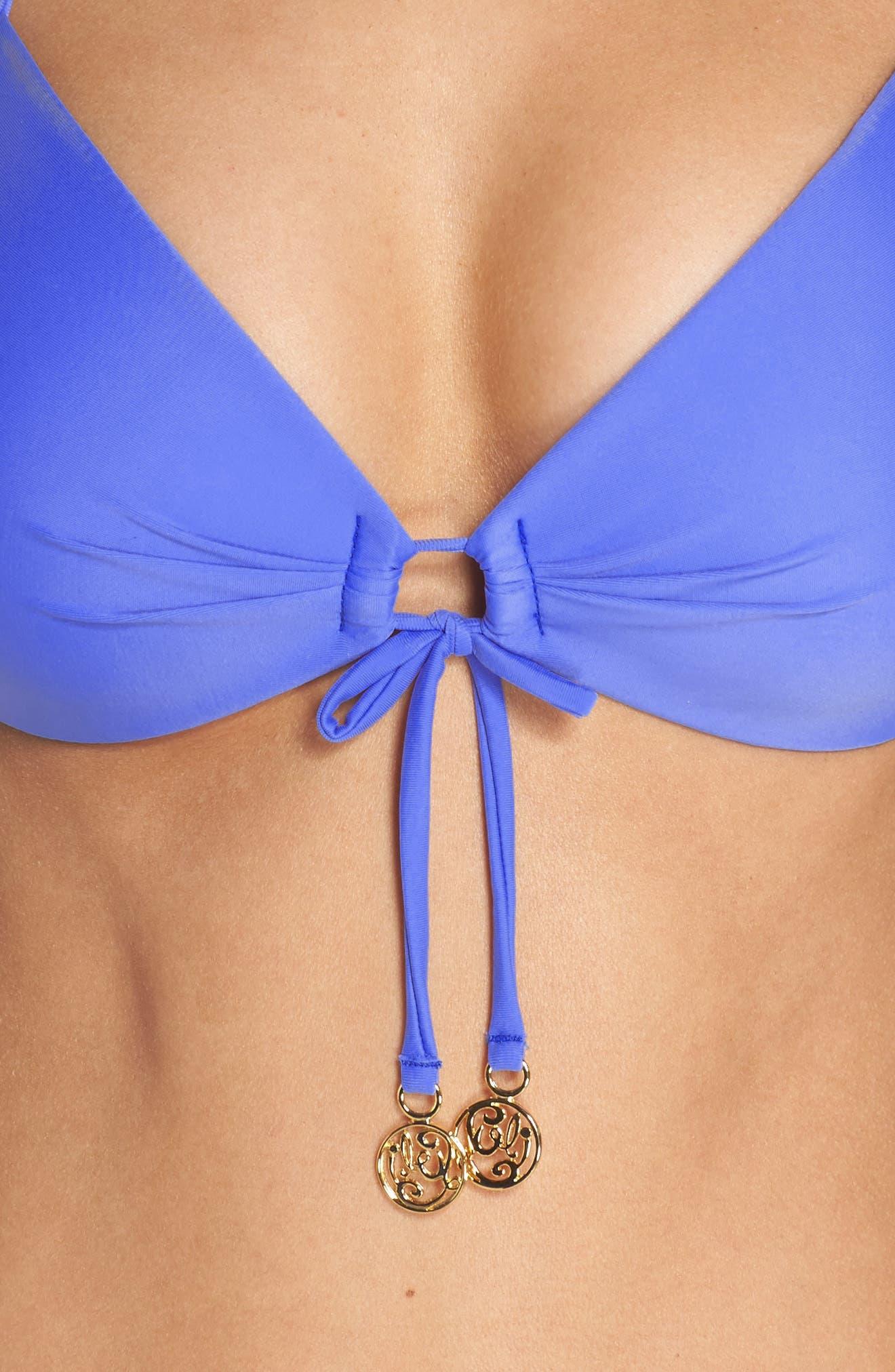 Alternate Image 4  - Luli Fama Push-Up Bikini Top