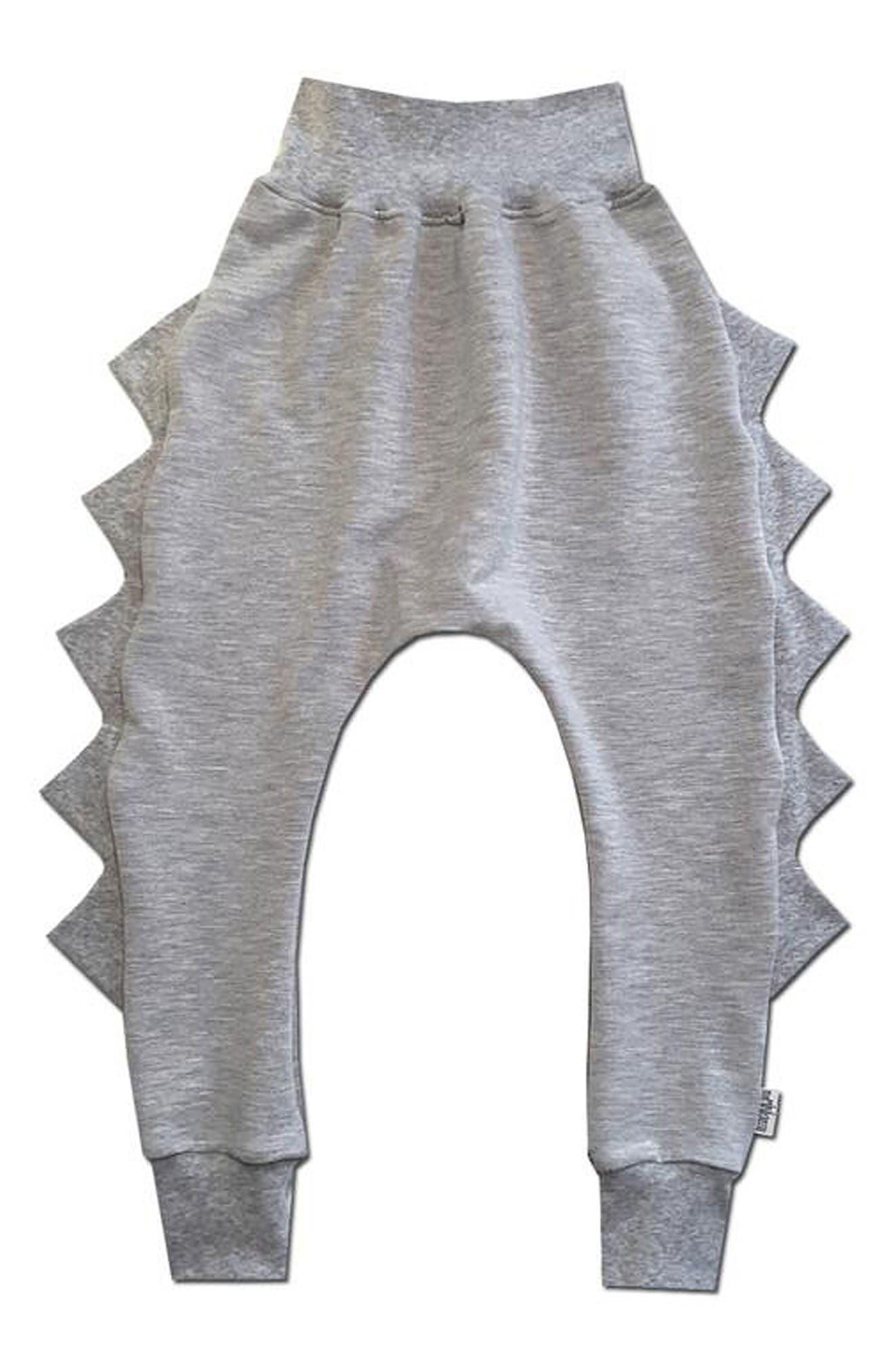 Dino Jogger Pants,                         Main,                         color, Athletic Grey