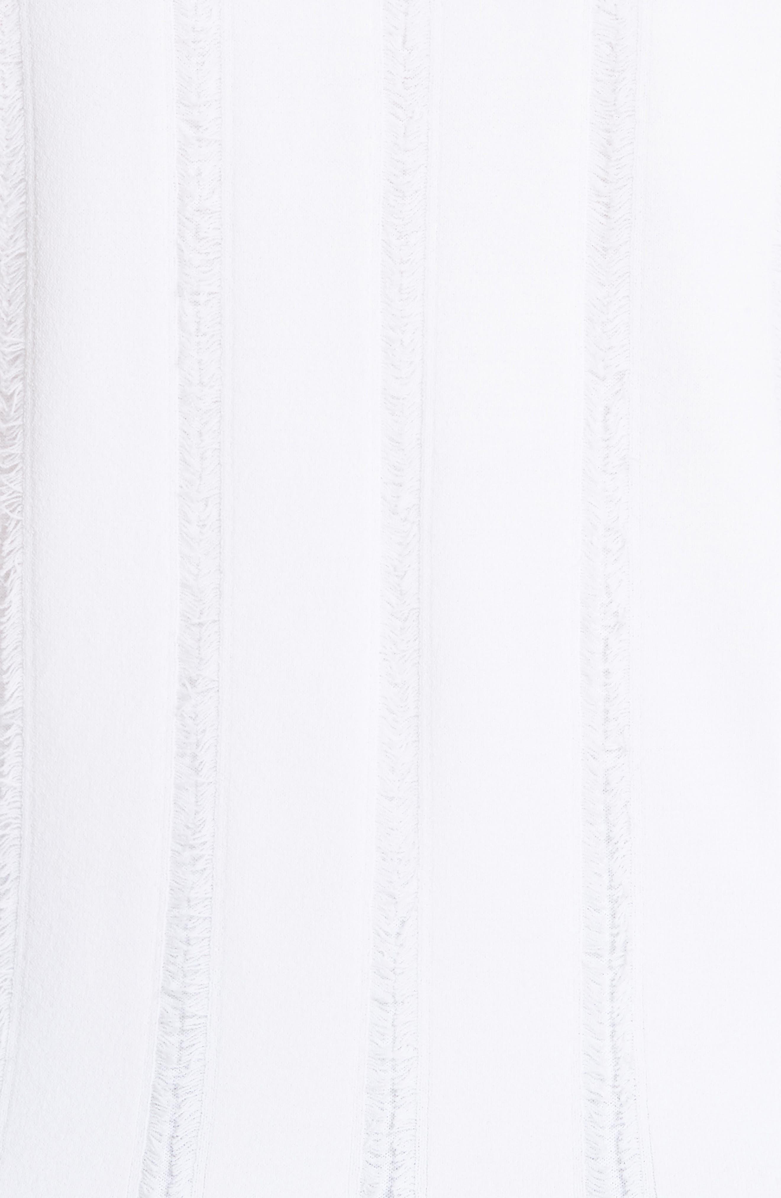 Cirrus Fringe Shell,                             Alternate thumbnail 5, color,                             White/ White
