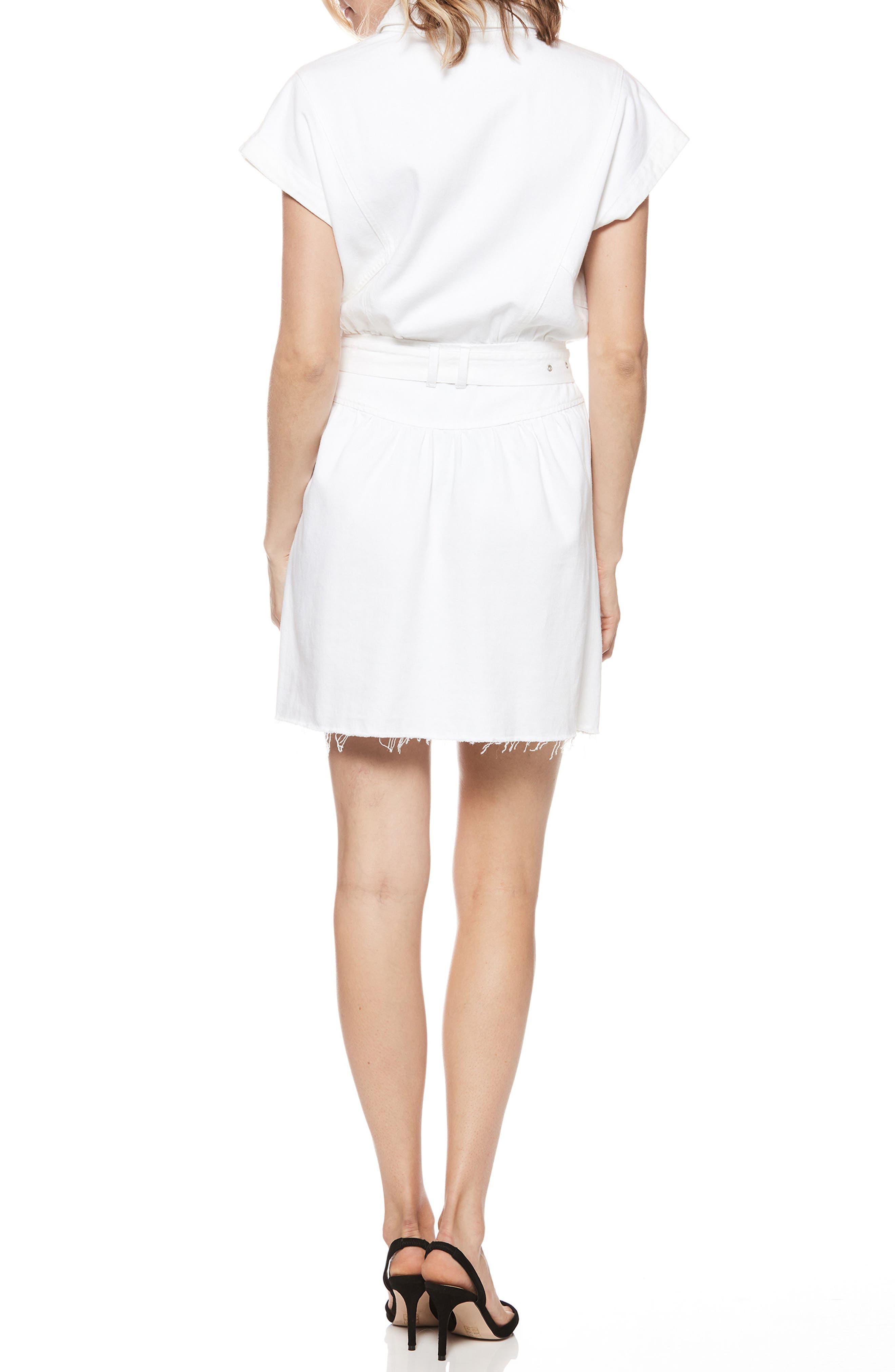 Celina Dress,                             Alternate thumbnail 2, color,                             Crisp White