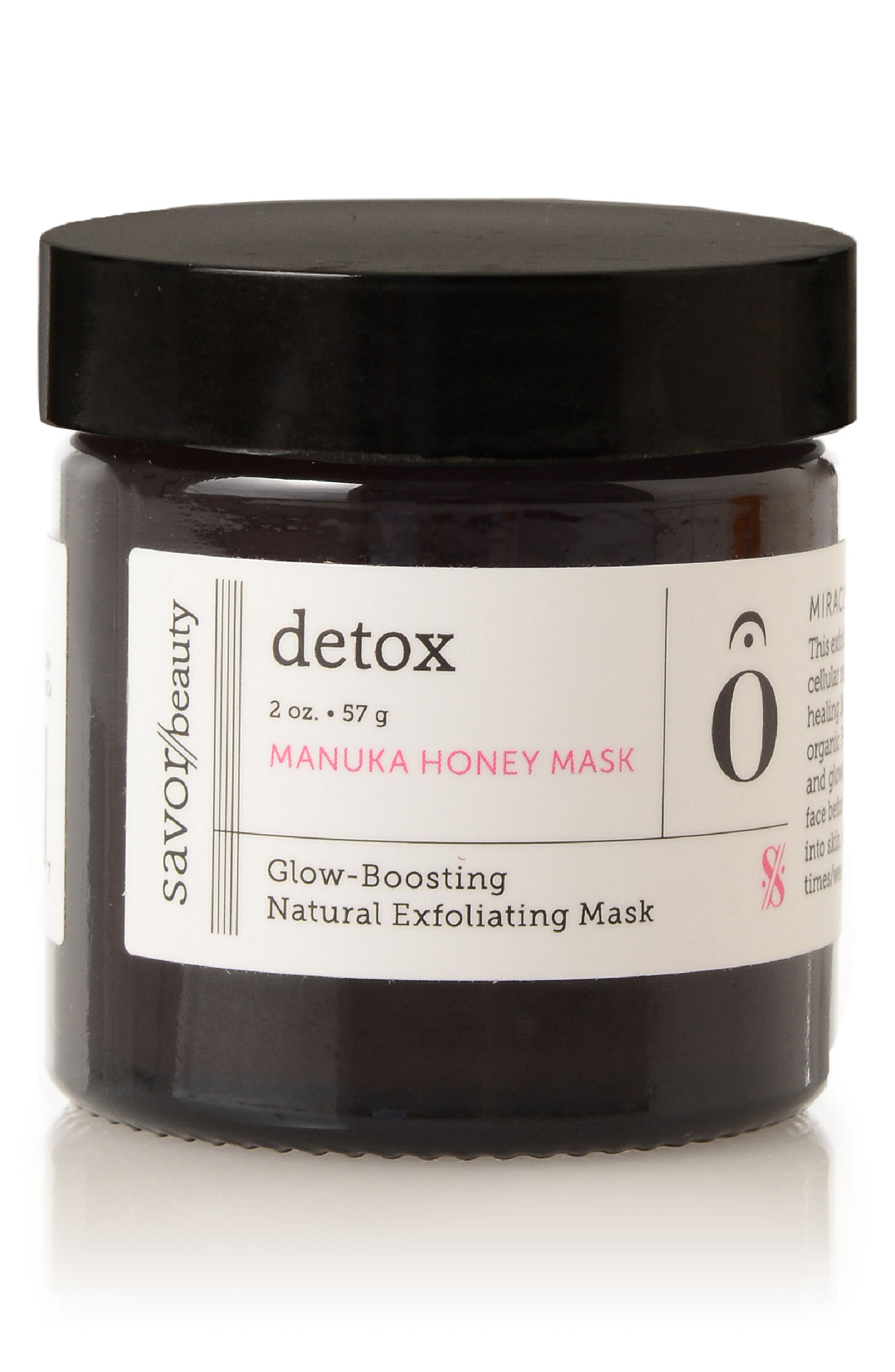 Savor Beauty Detox Manuka Honey Mask