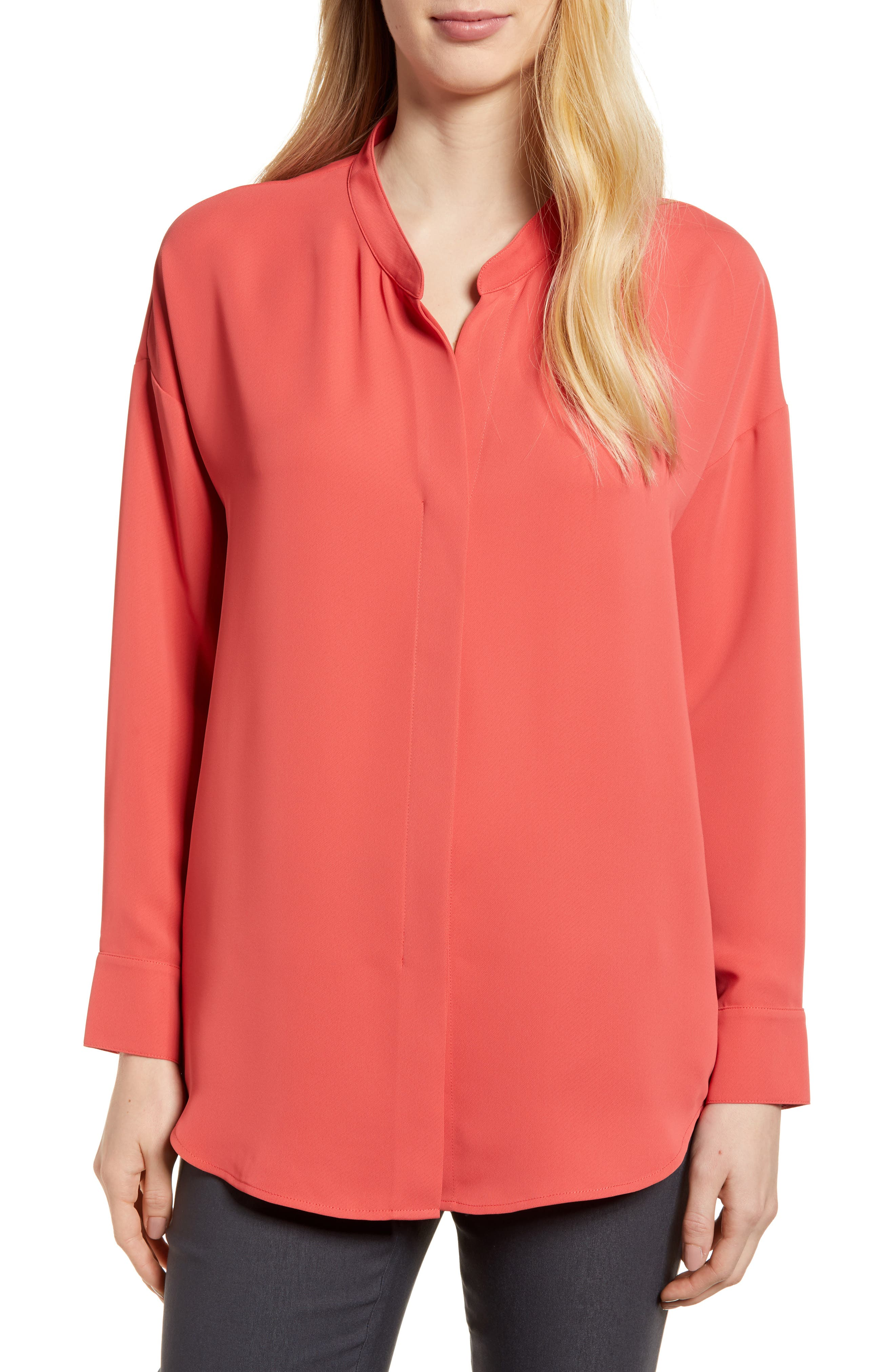 Moroccan Top,                         Main,                         color, Spiced Rose