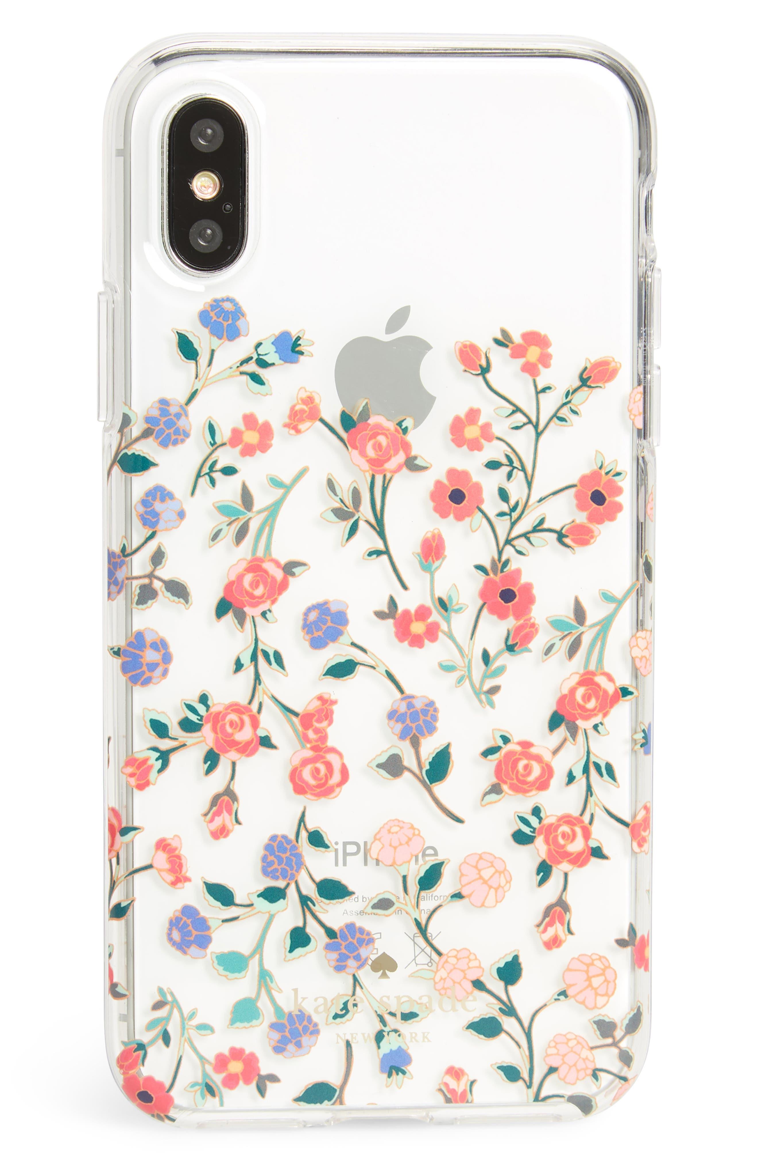 kate spade new york mini bloom dip iPhone X Case