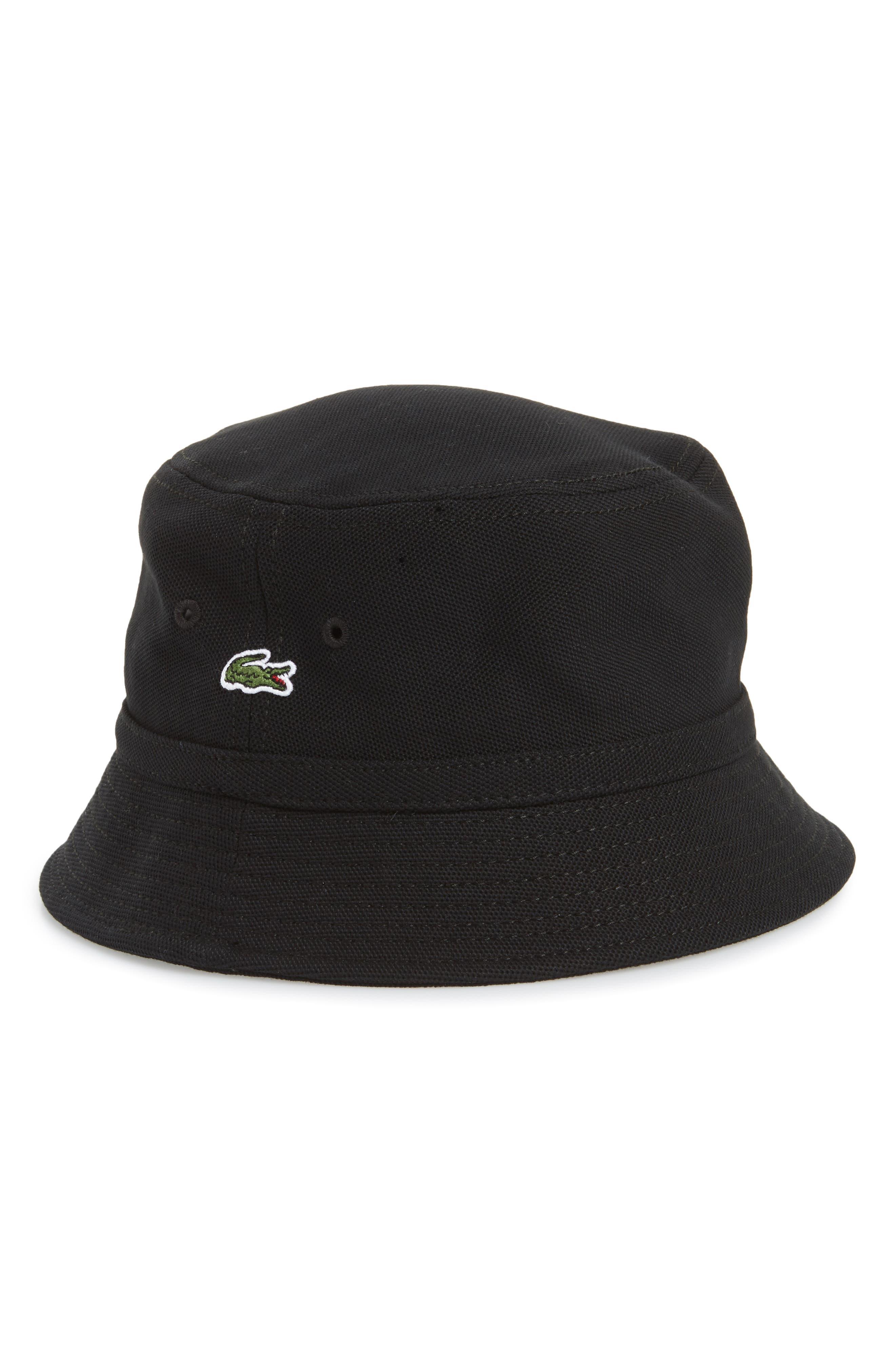 Bob Bucket Hat,                             Main thumbnail 1, color,                             Black
