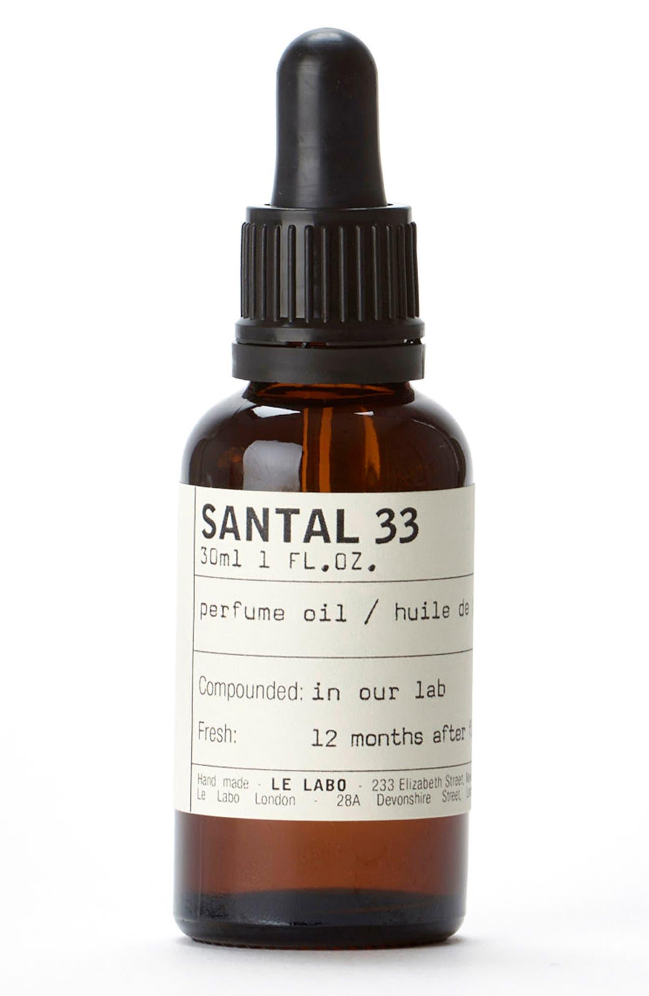 'Santal 33' Perfume Oil,                             Main thumbnail 1, color,                             No Color