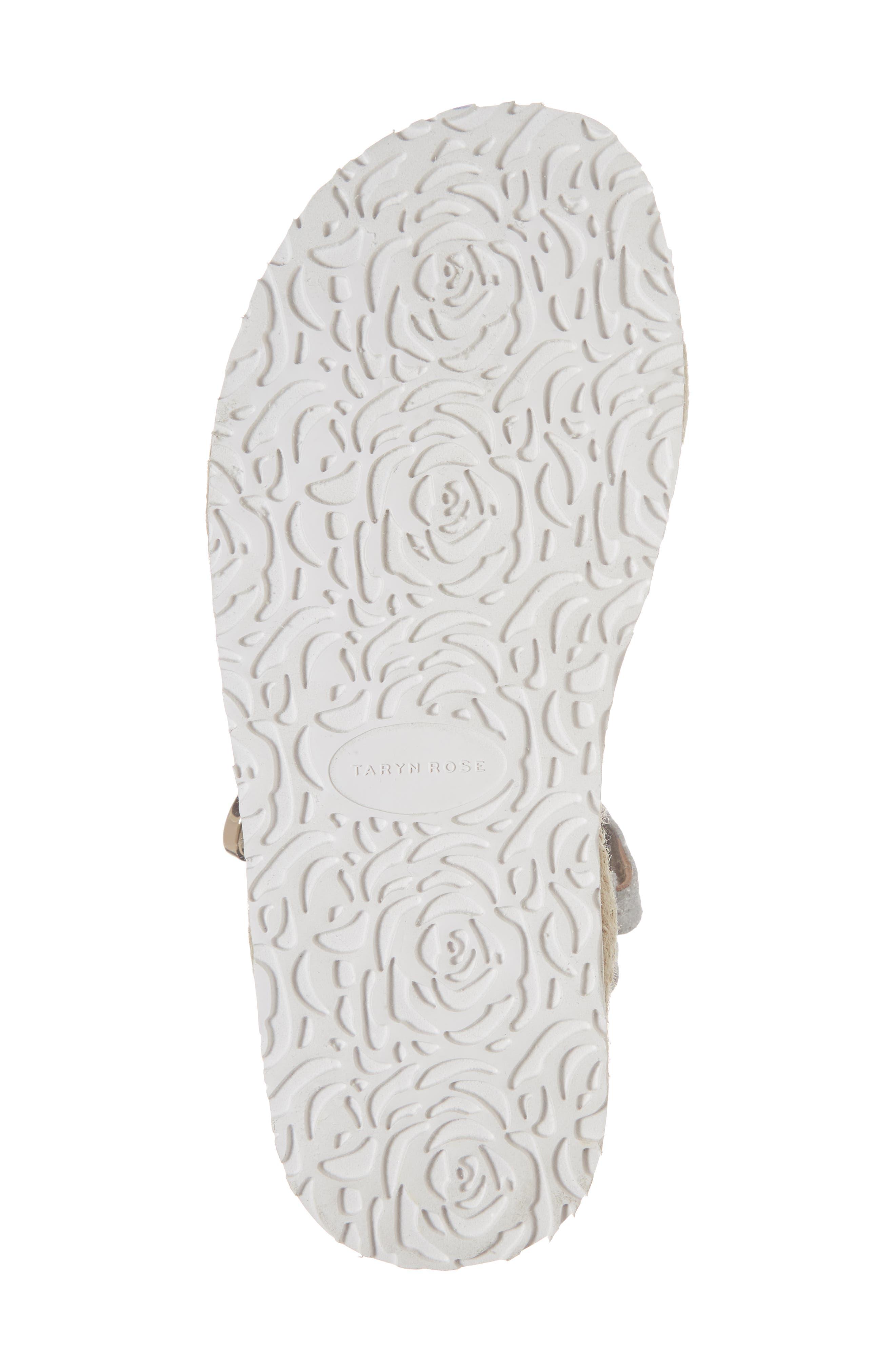 Lydia Platform Sport Sandal,                             Alternate thumbnail 6, color,                             Silver Leather