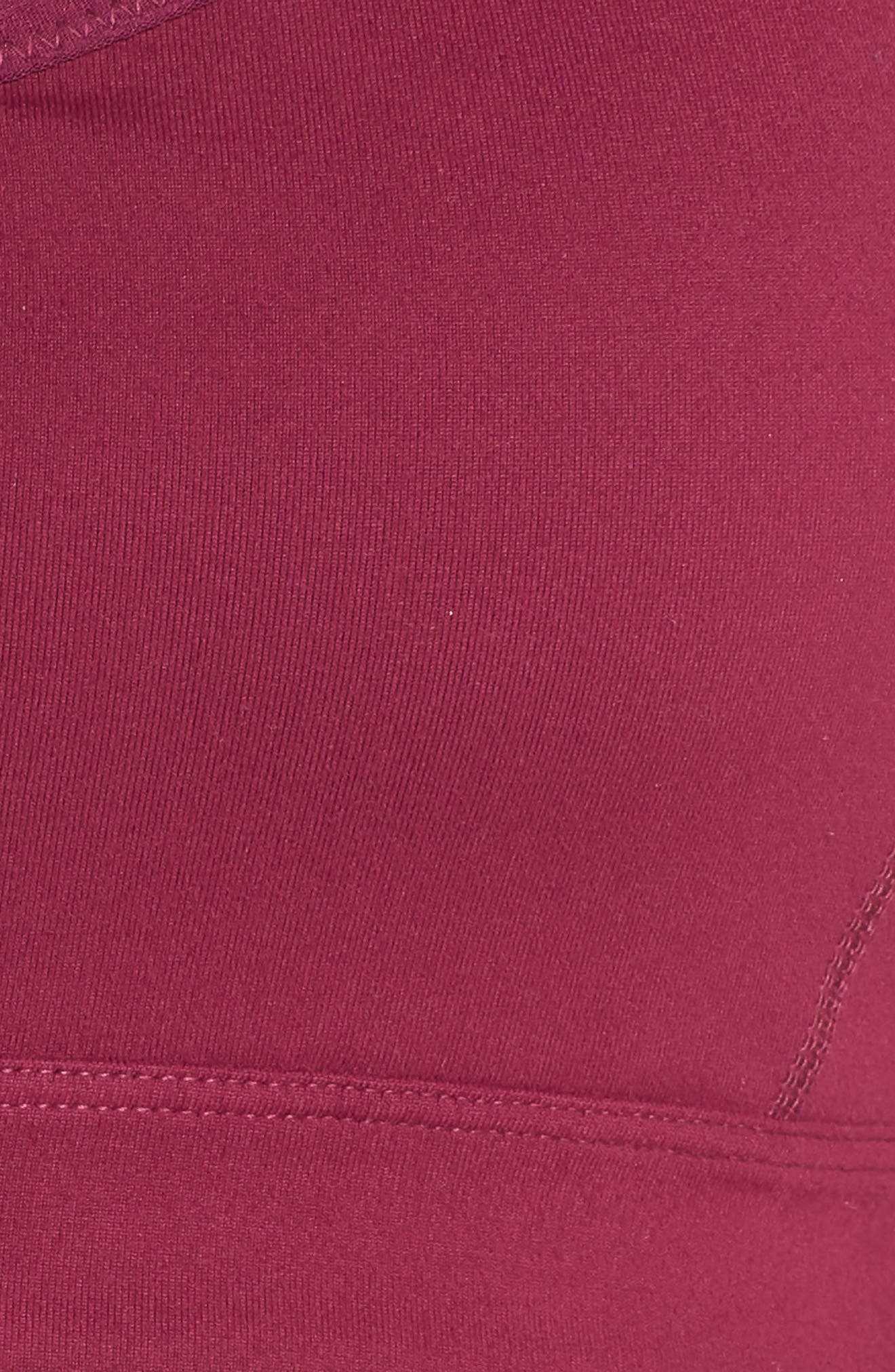 Vinyasa Sports Bra,                             Alternate thumbnail 6, color,                             Purple Magenta