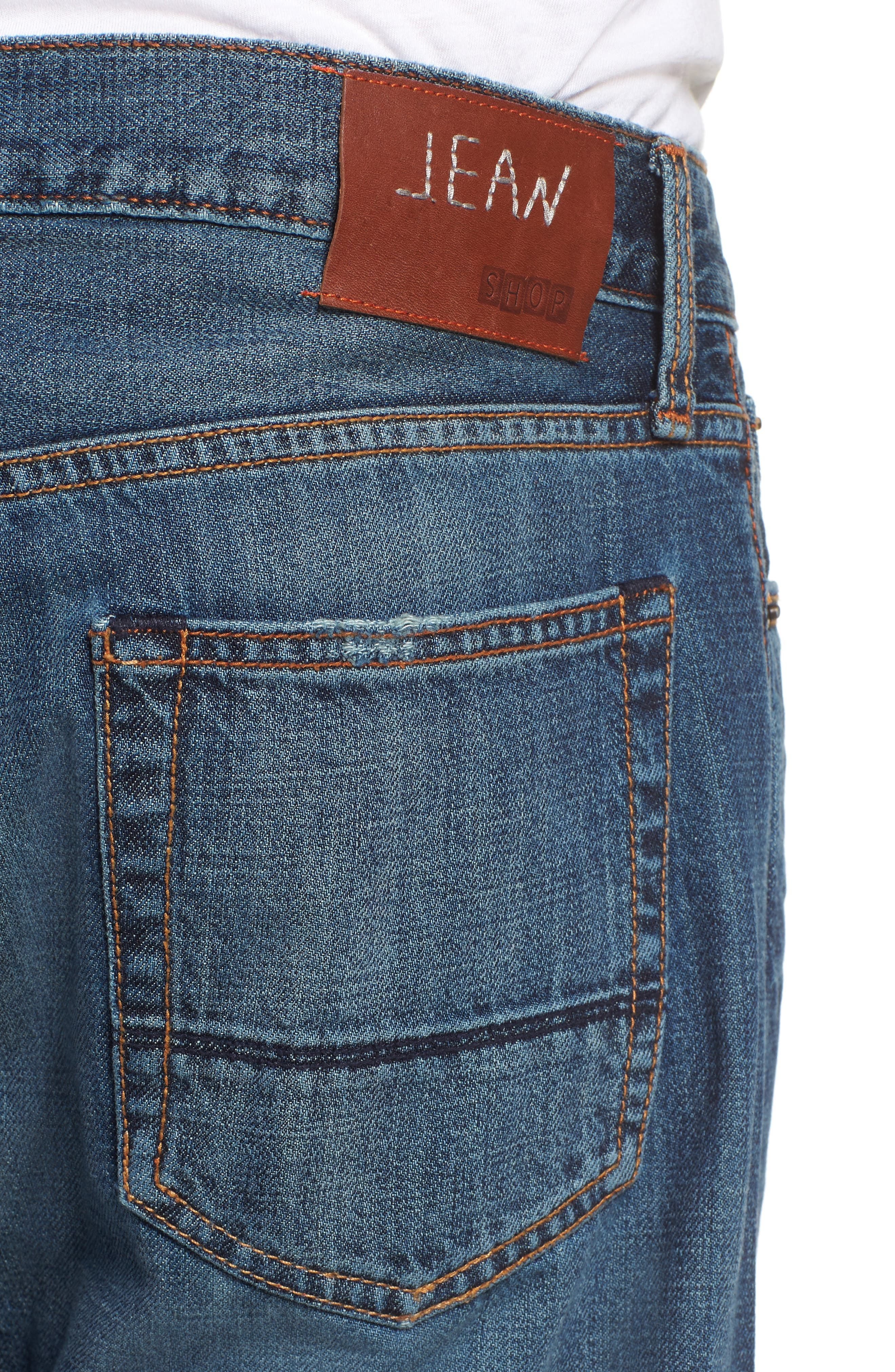 Jim Slim Fit Jeans,                             Alternate thumbnail 4, color,                             Greenwood