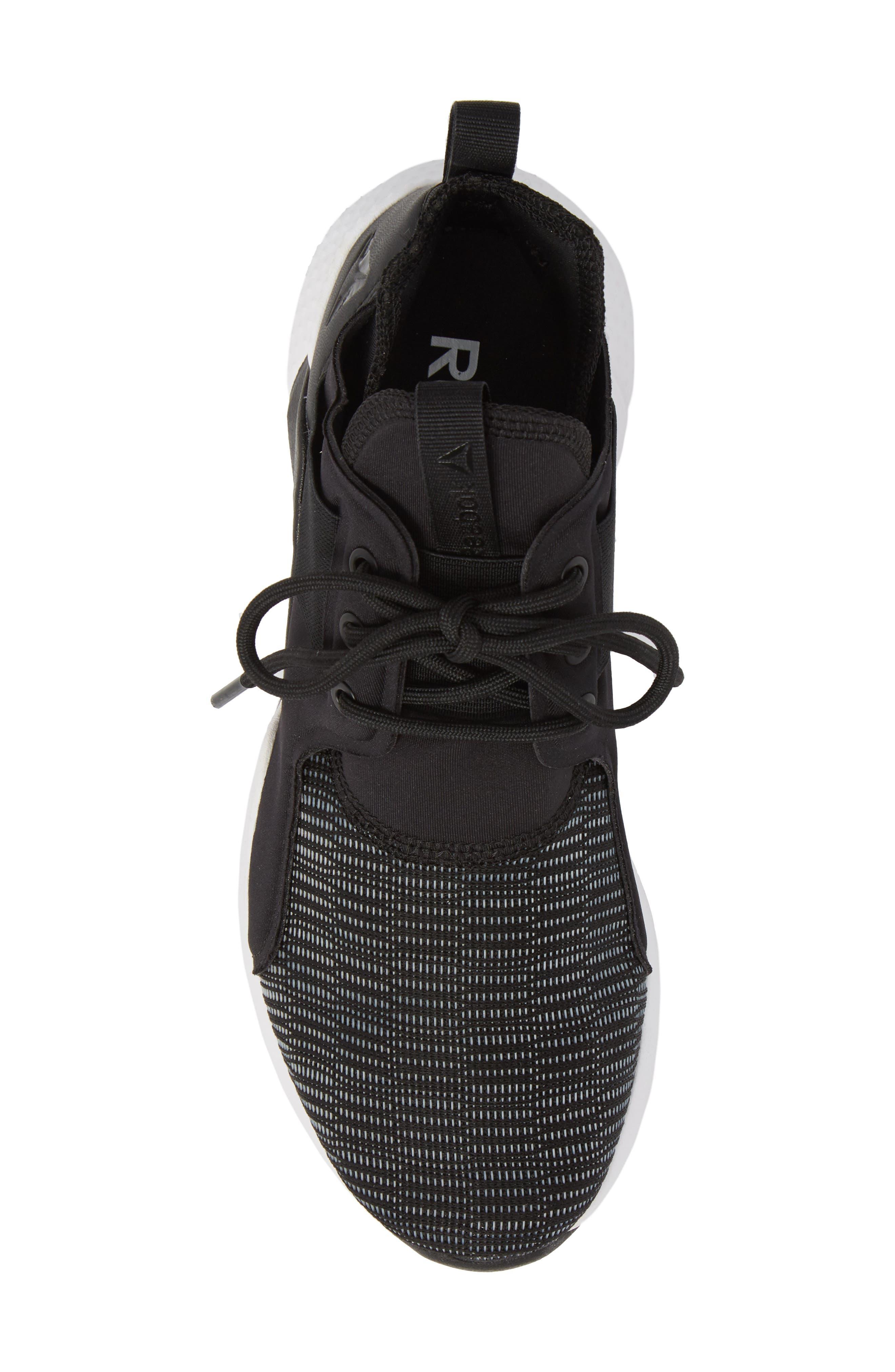 Guresu 1.0 High Top Sneaker,                             Alternate thumbnail 5, color,                             Black/ White